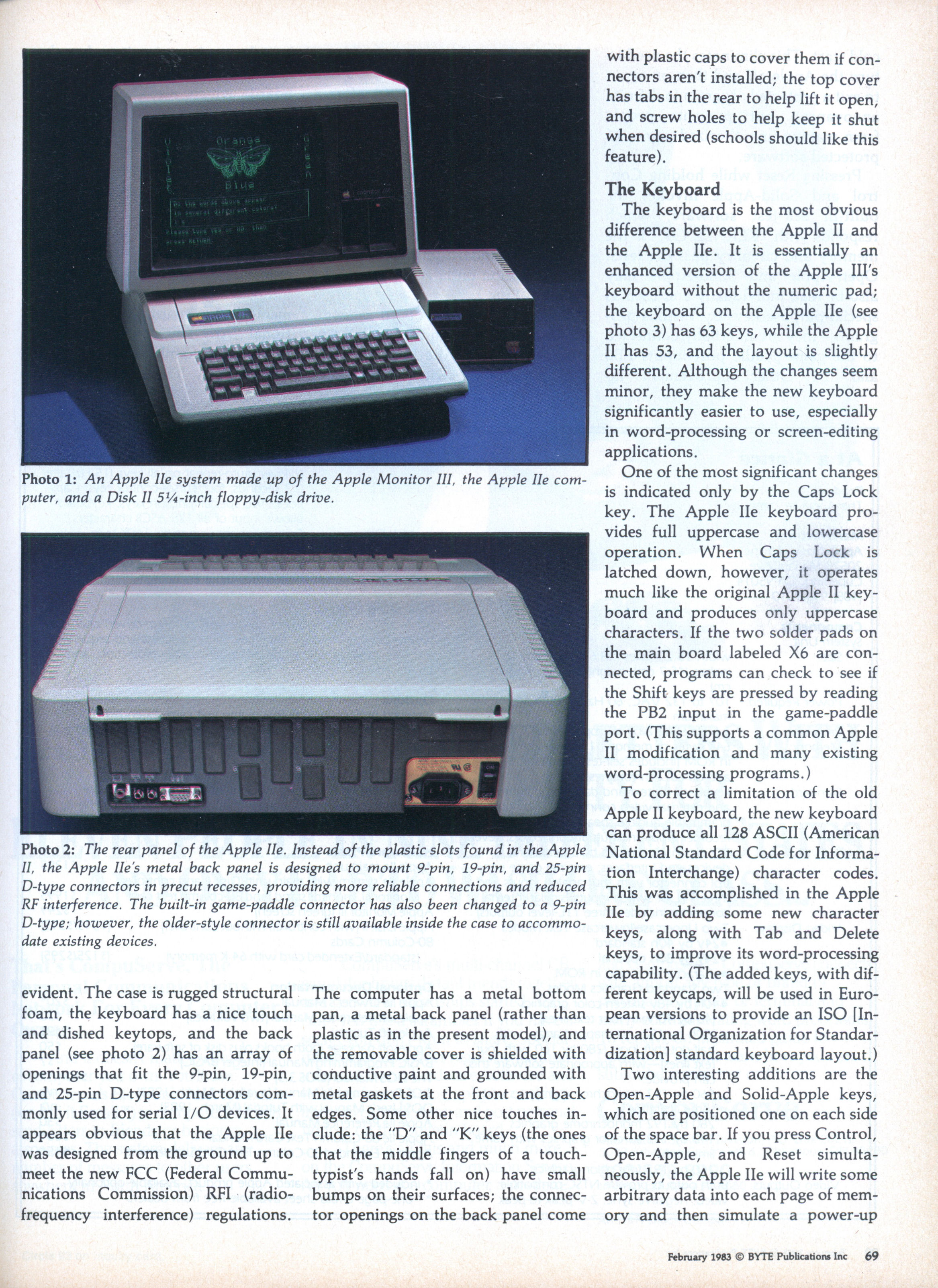 the expanded keyboard for apple ii and iie Usenet newsgroup apple ii faqs  015- can i replace my bombed iie keyboard with one from another iie  029- can i use an apple iii joystick on my apple ii.