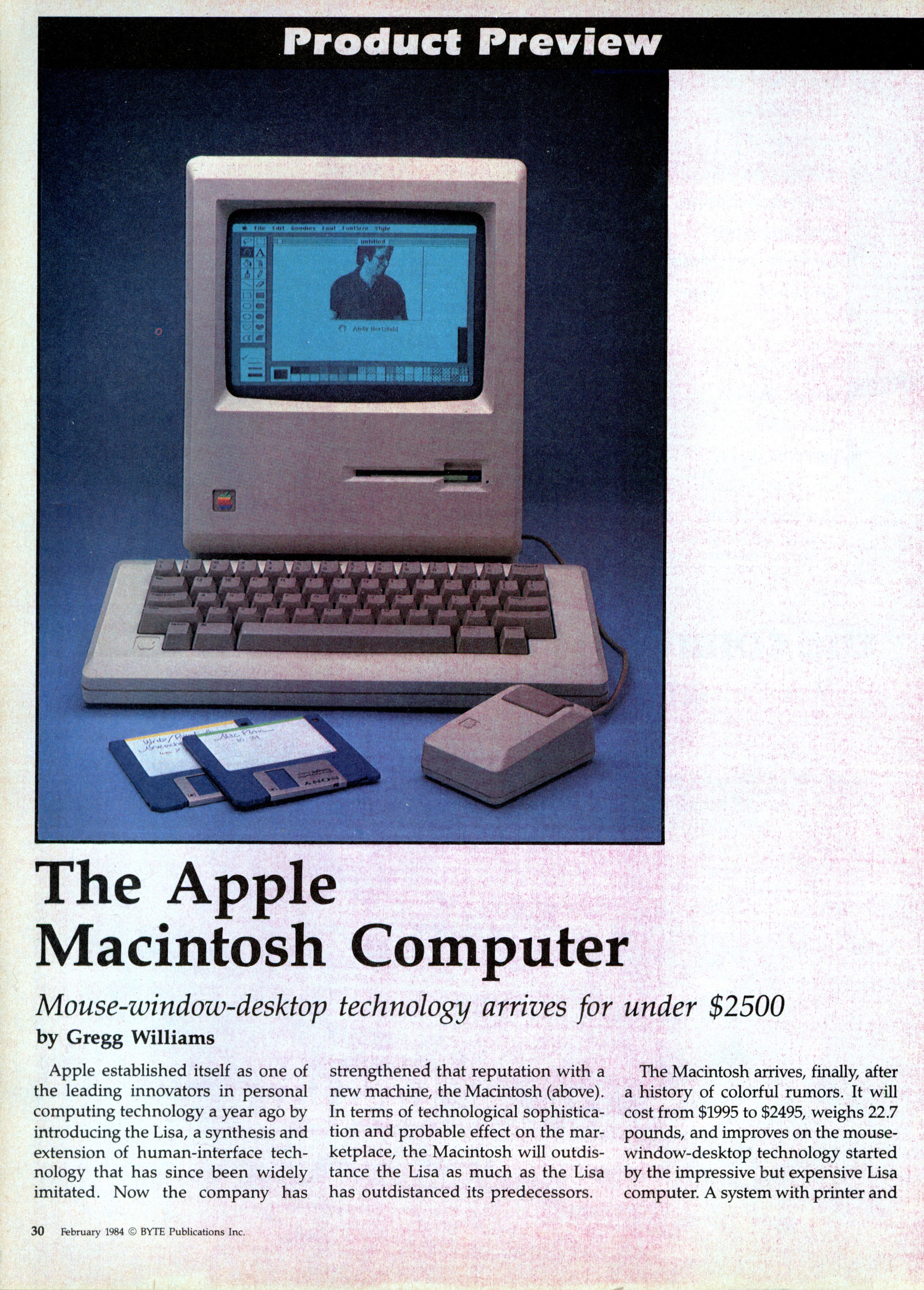 Byte review of the original Macintosh | Modern Mechanix
