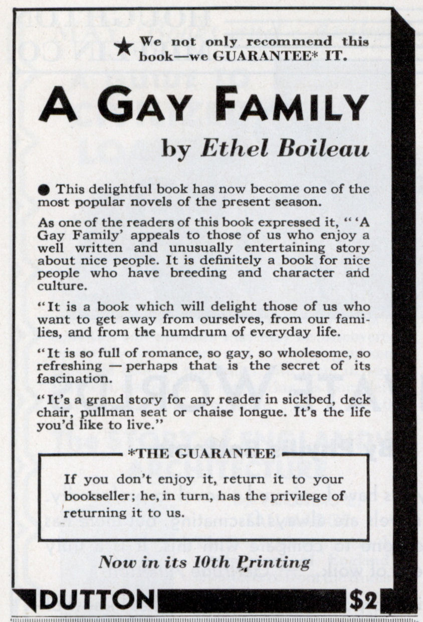 "... ""'A Gay Family' appeals to those of us who enjoy a well written and ..."