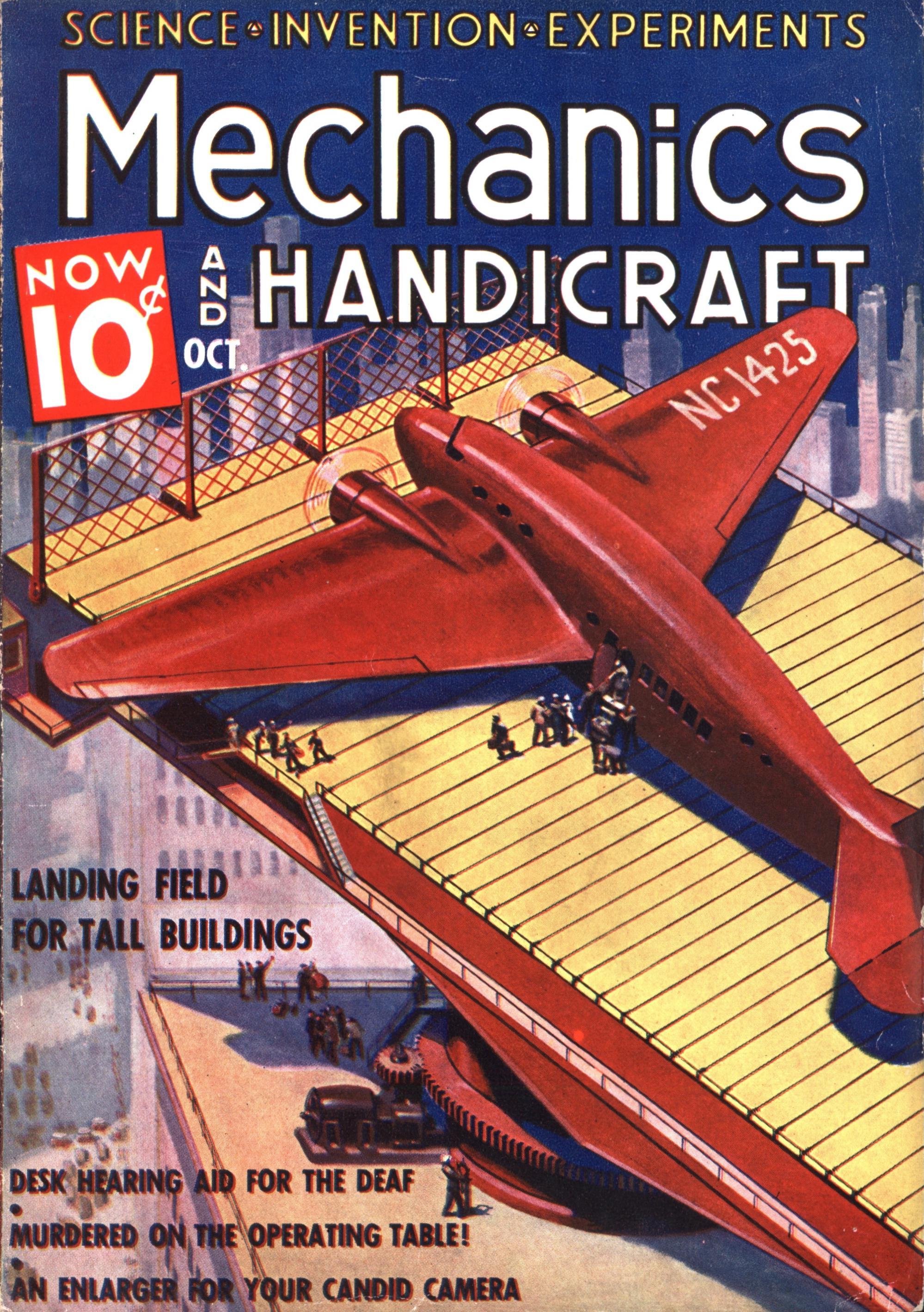 Mechanics And Handicraft Oct 1937 Modern Mechanix
