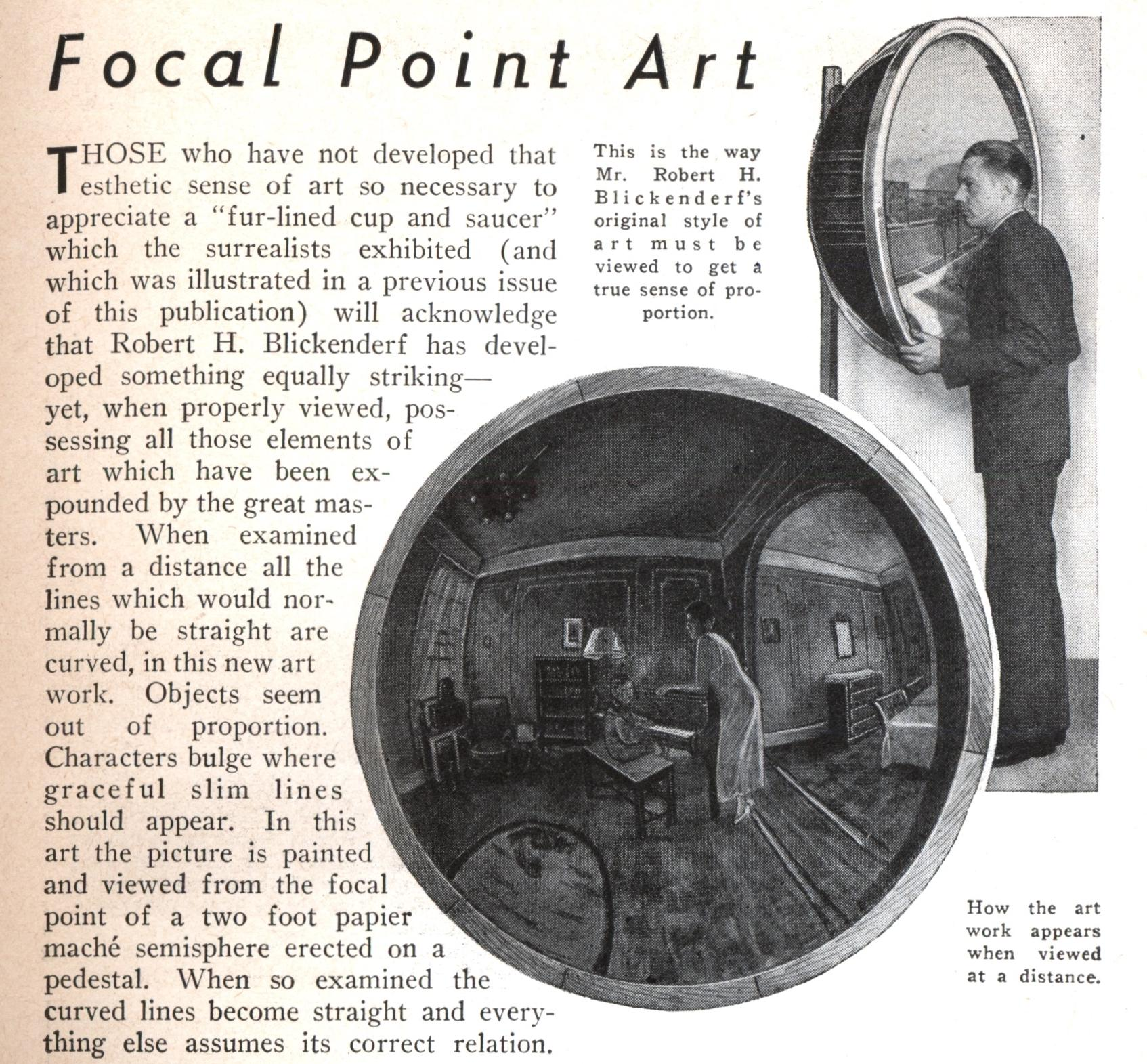 Focal Point Art | Modern Mechanix