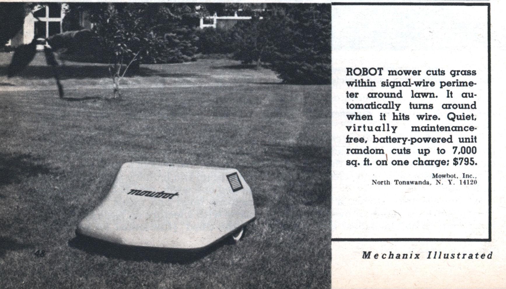 Mowbot Modern Mechanix