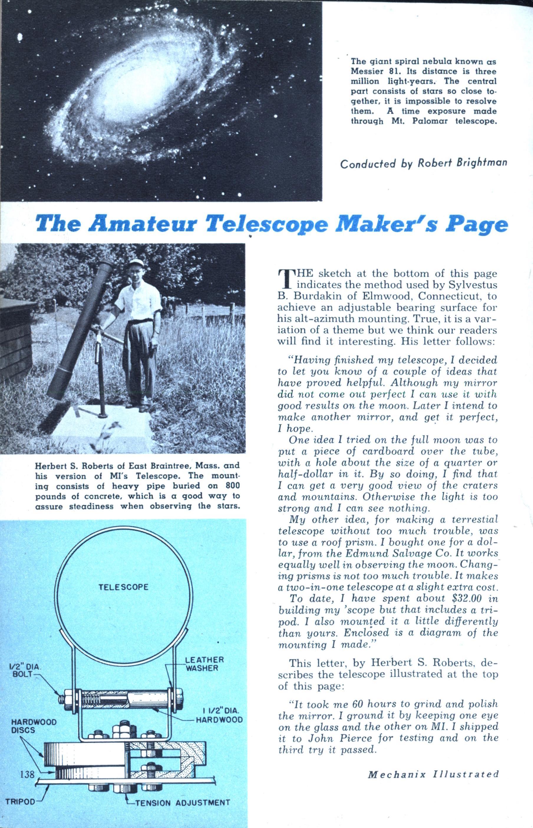 Amateur page picture