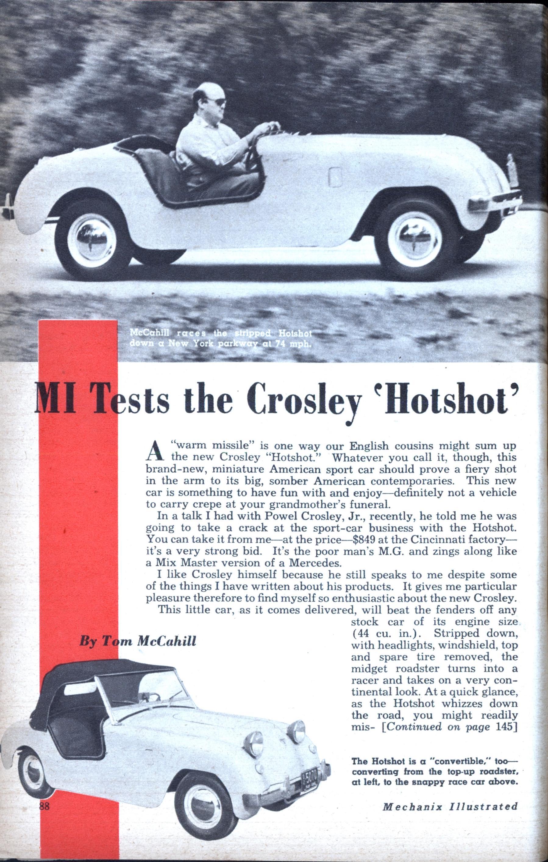 Crosley Hotshot Key Fob