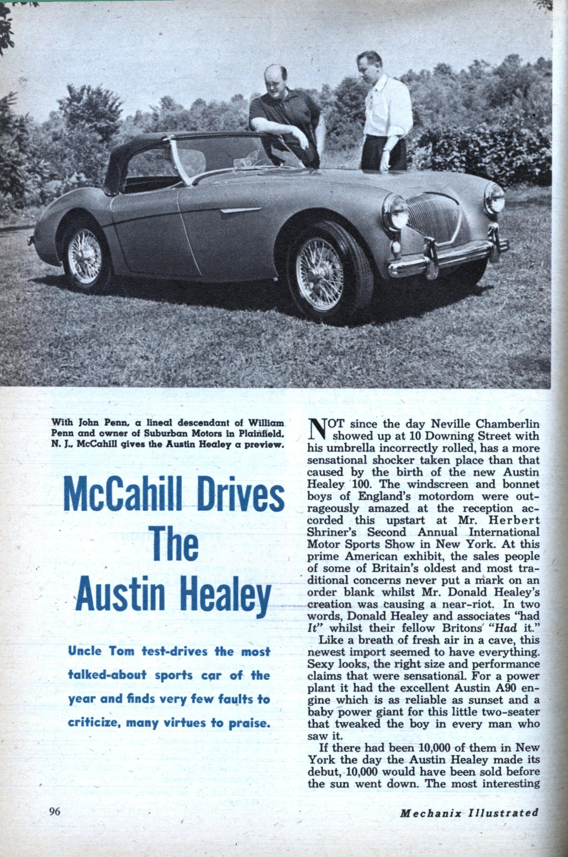Austin Healey (Nov, 1953)