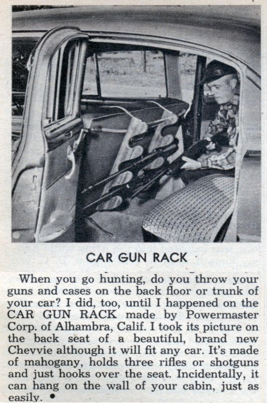 Car Gun Rack Dec 1953