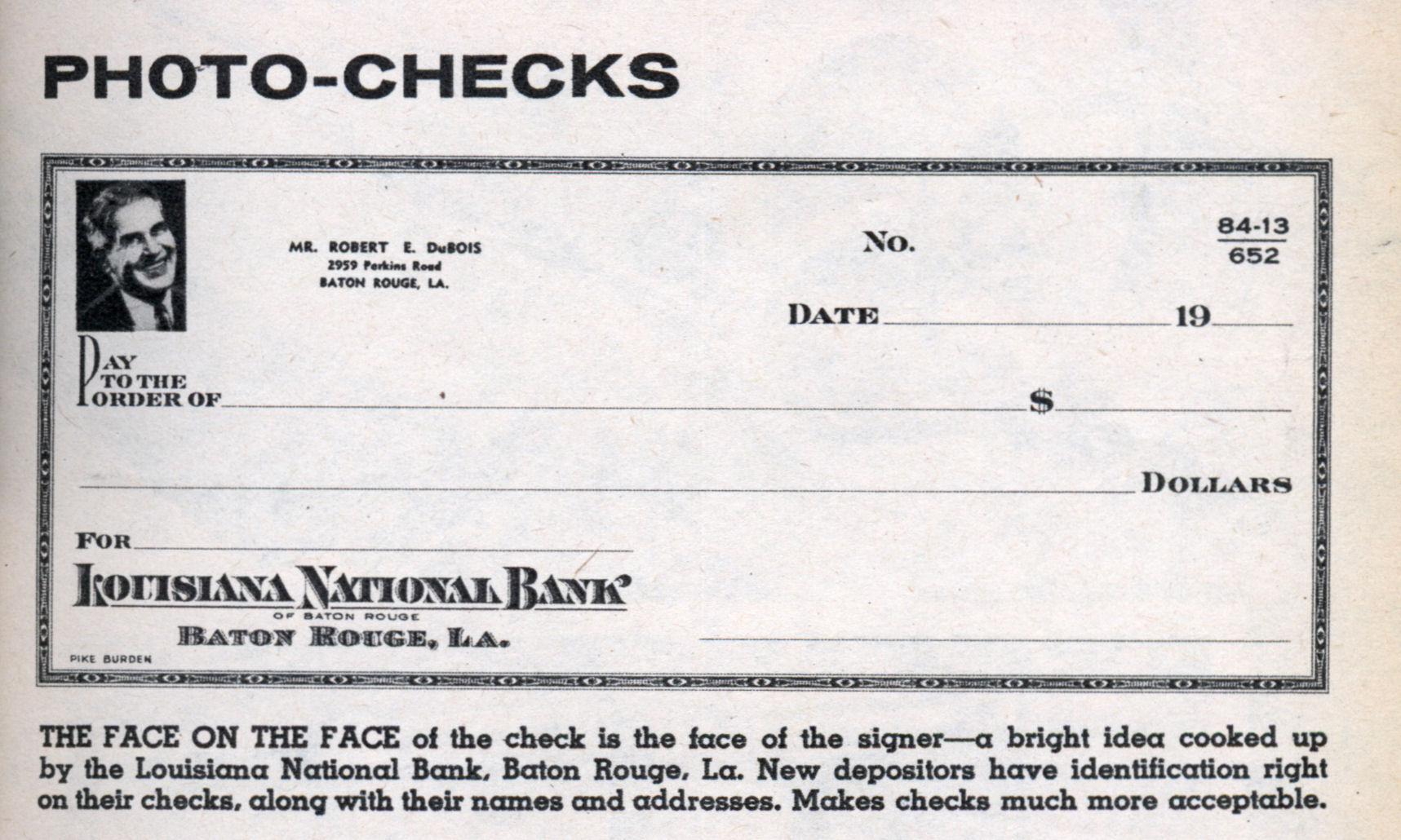 Checks & balances chart
