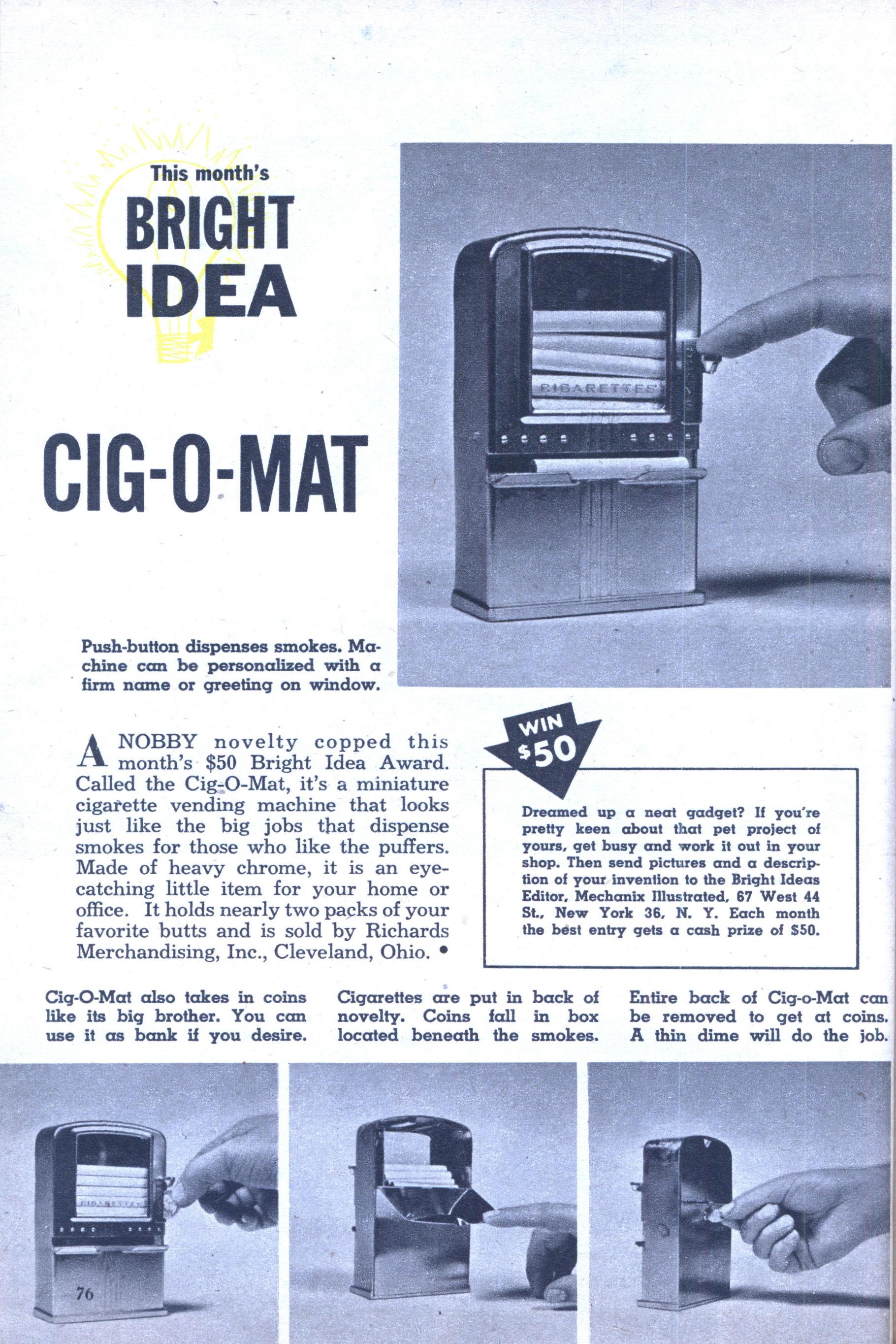 marlboro single cigarette dispenser