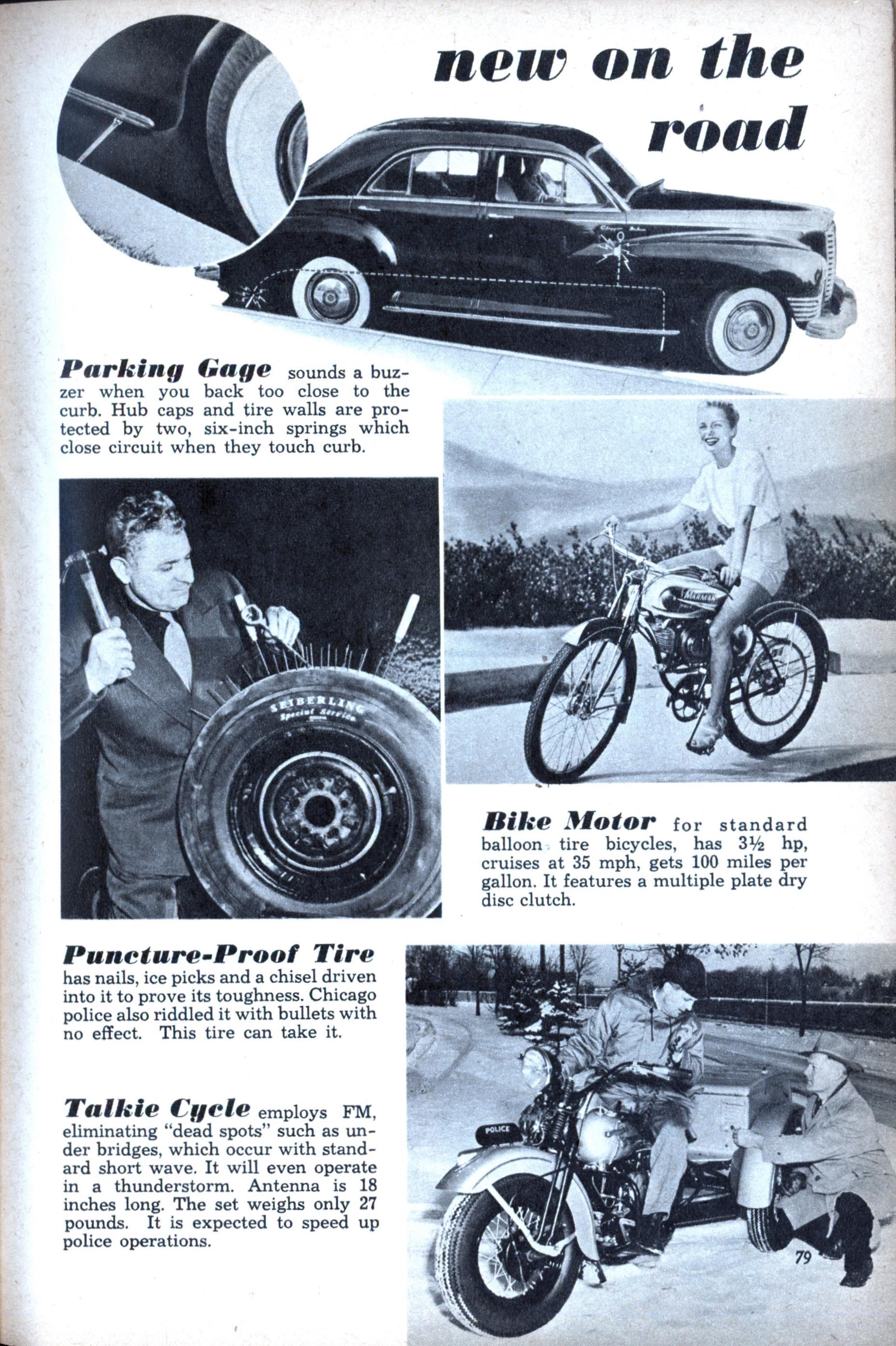 New on the road modern mechanix