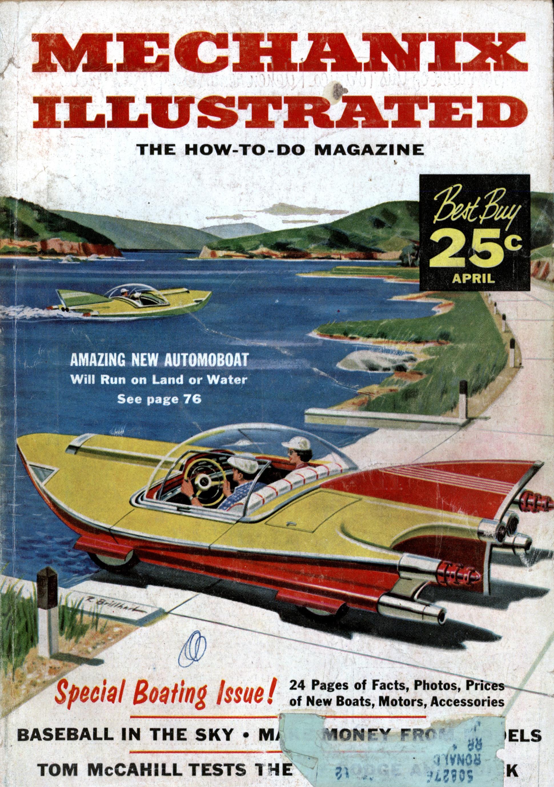 Mechanix Illustrated Apr 1957 Modern Mechanix