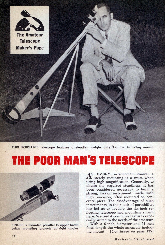 Amateur Telescope Builder