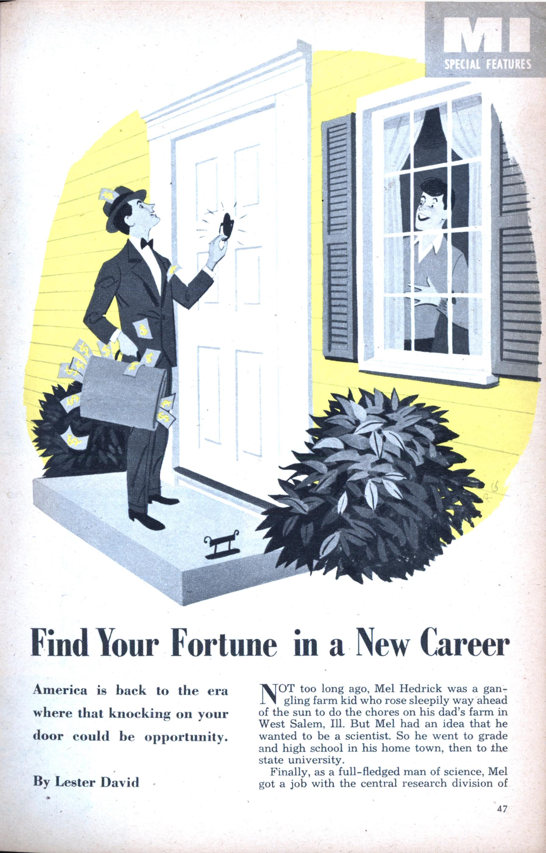 finding a new career