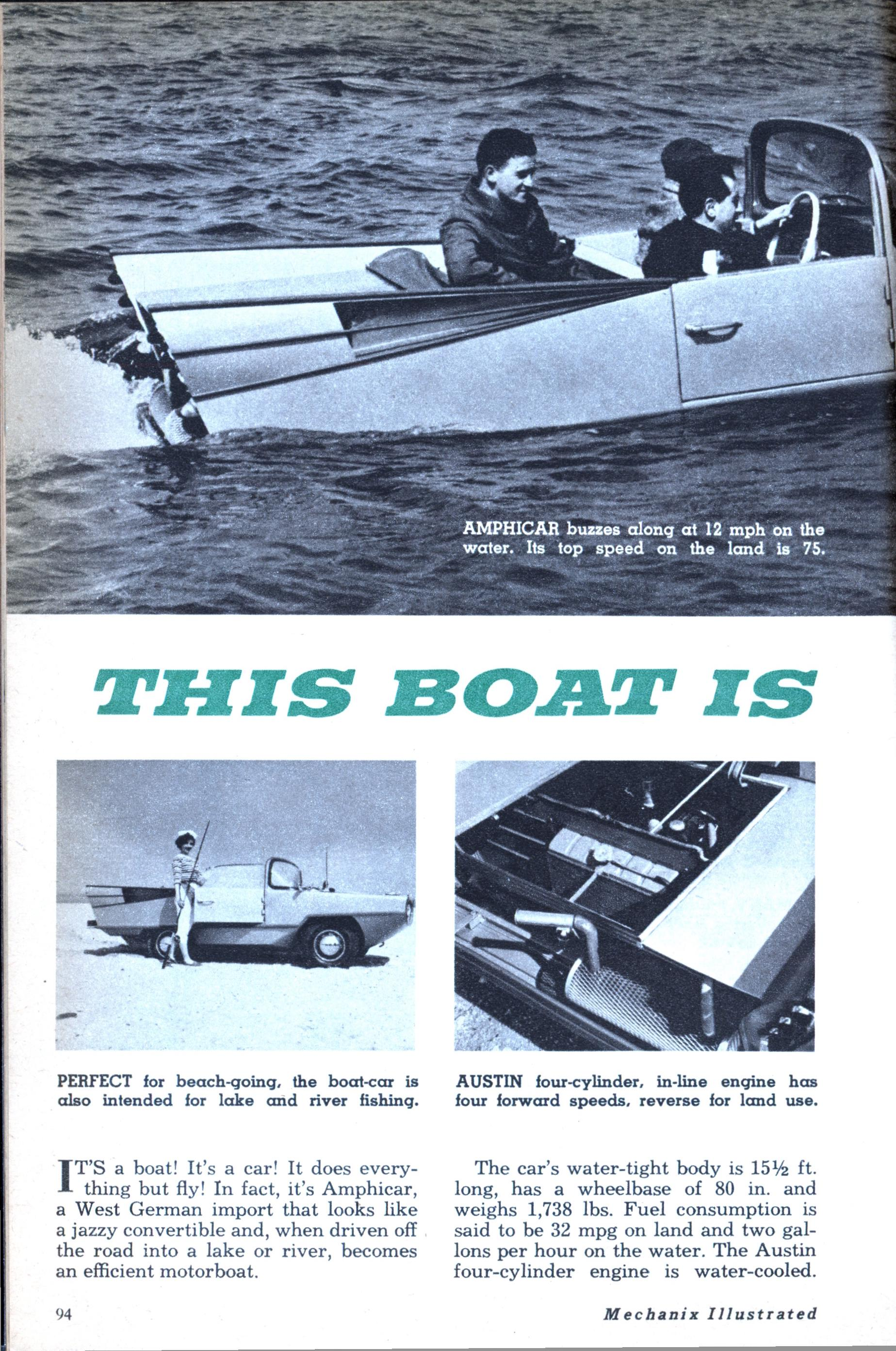 THIS BOAT IS A CAR! | Modern Mechanix