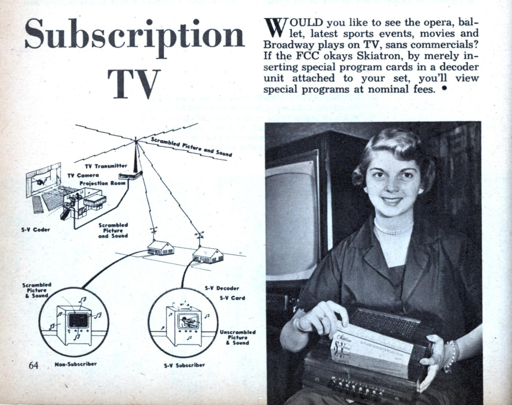 how to add subscption on tv