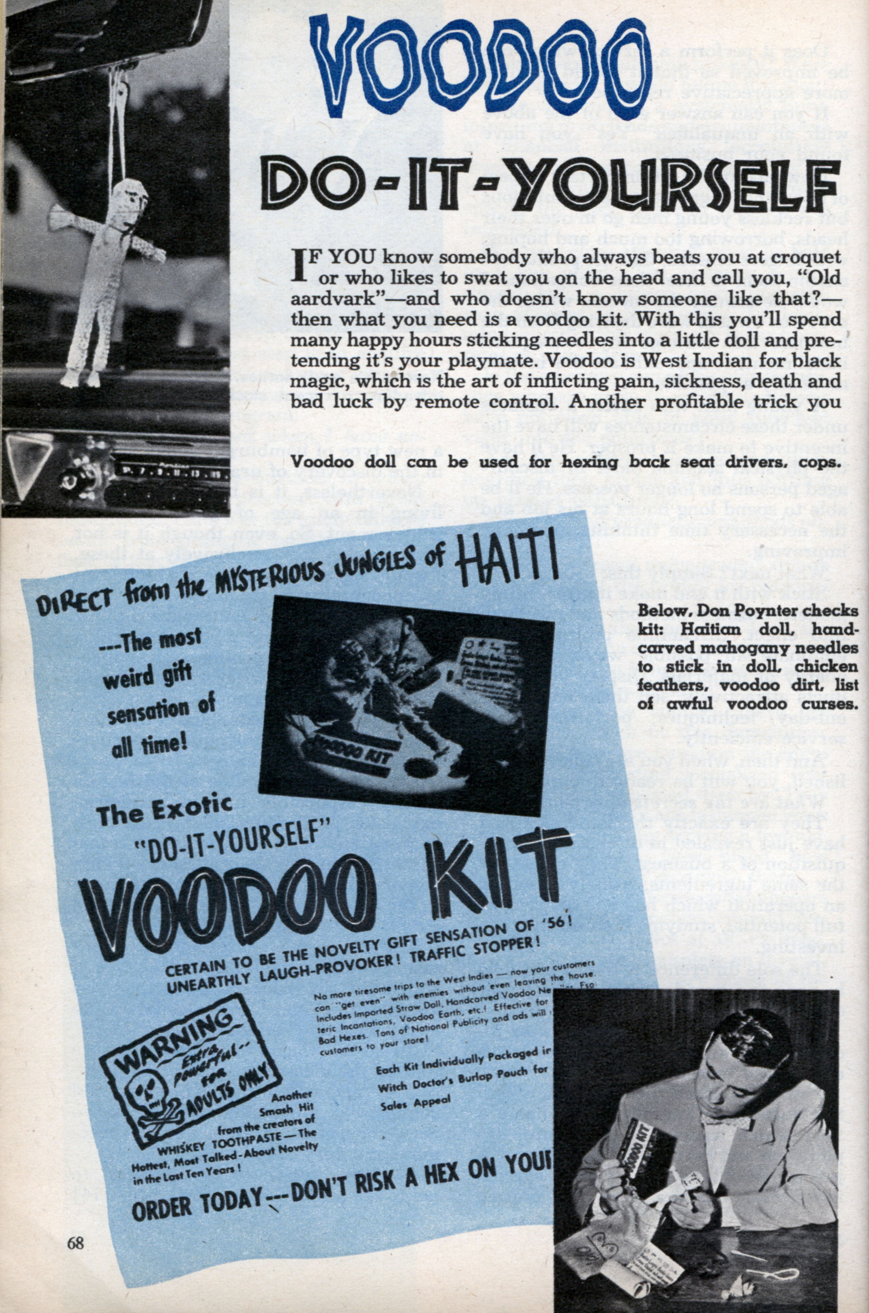 Diy voodoo kit modern mechanix diy voodoo kit sep 1956 solutioingenieria Gallery