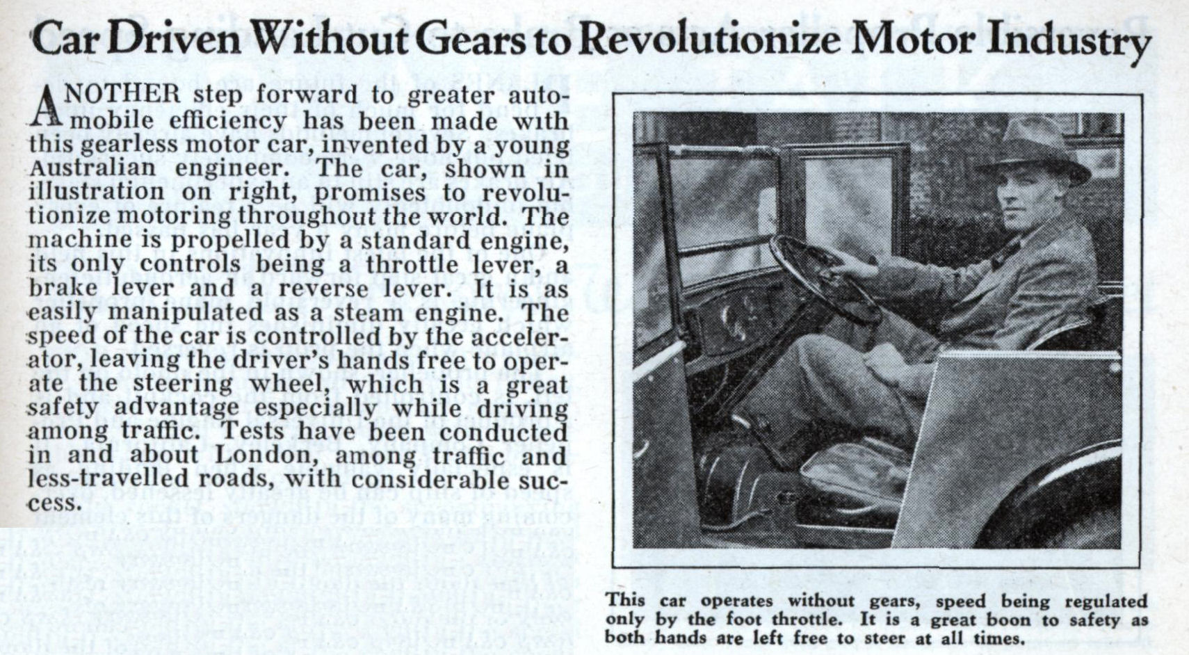 Car Driven Without Gears to Revolutionize Motor Industry | Modern ...