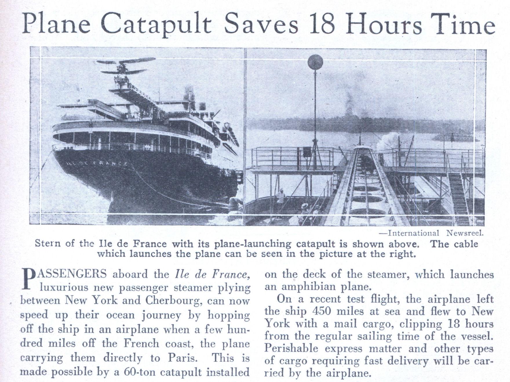 Transoceanico ou Transatlantico... Catapult_plane_saves_time