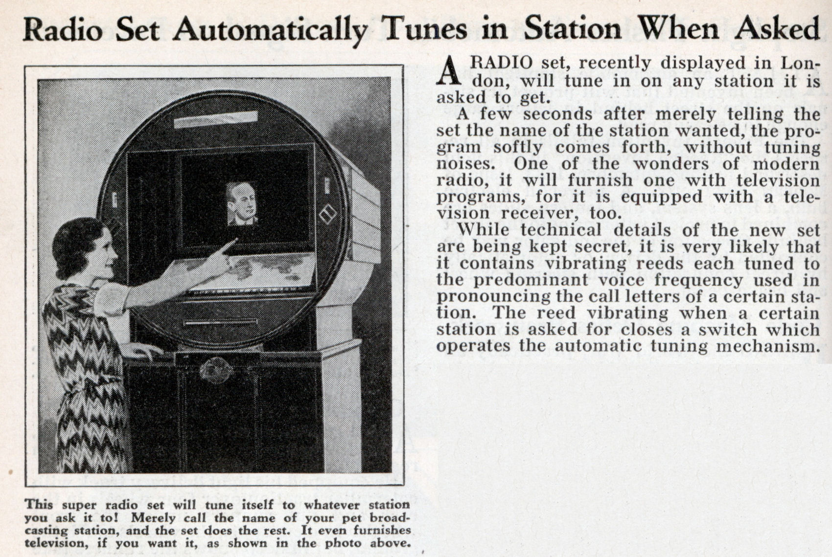 how to set a radio station in a cruz