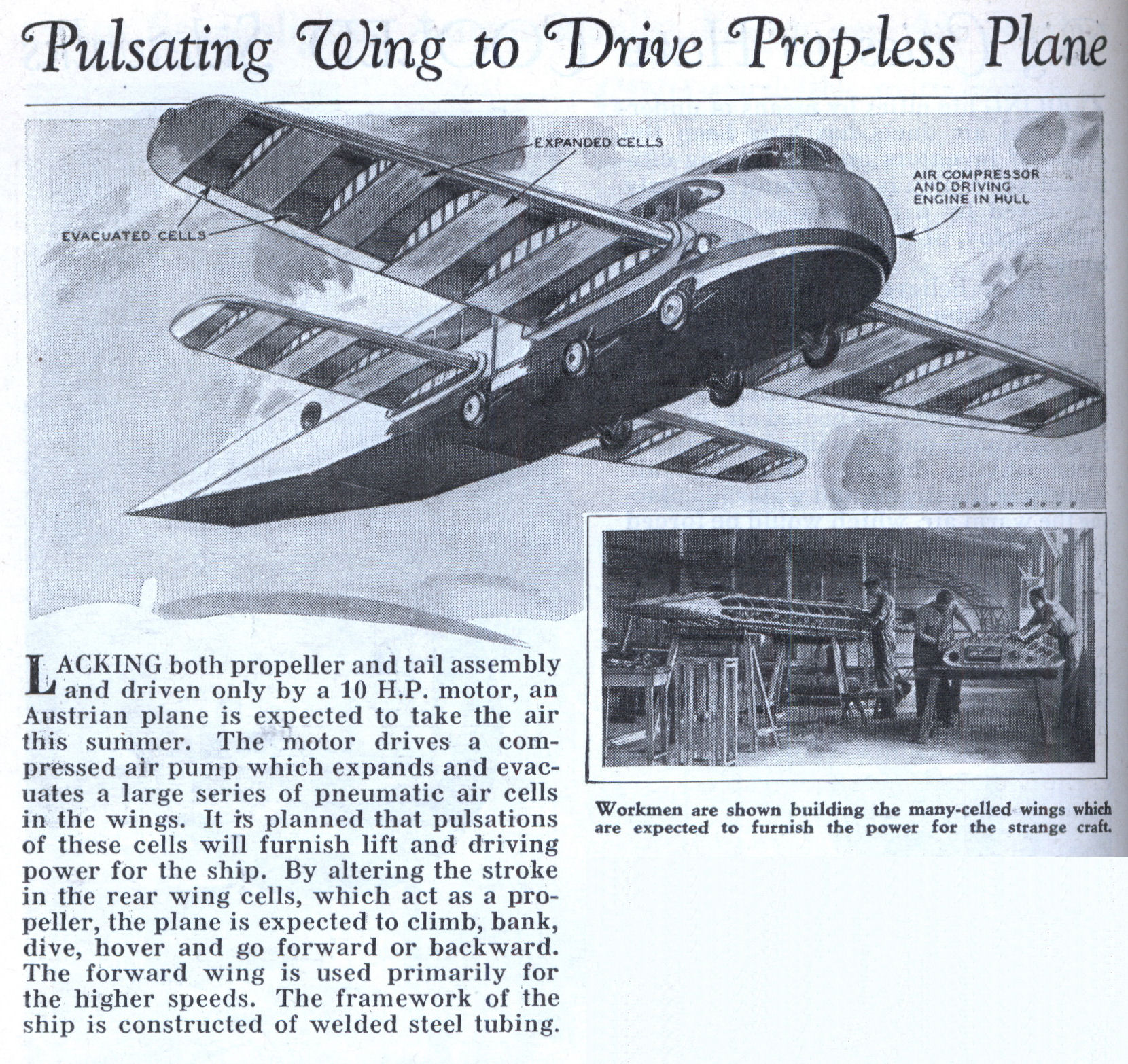 Airplane Wing Design