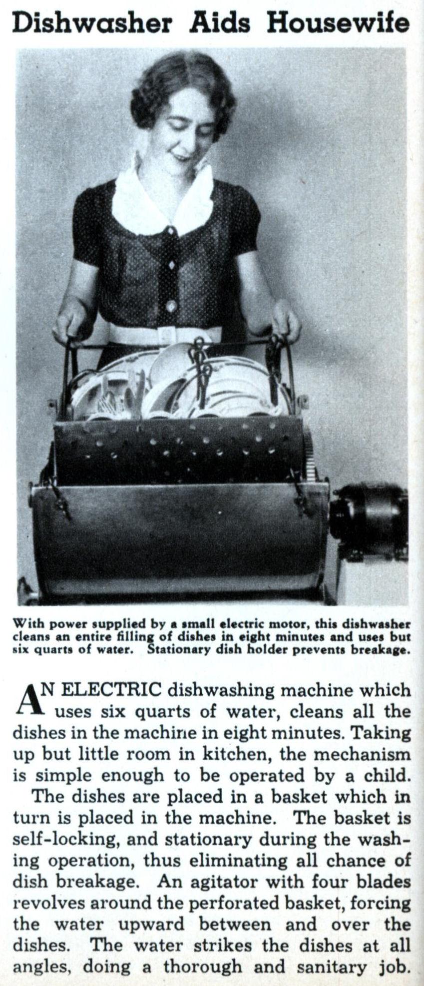 Dishwasher Ad