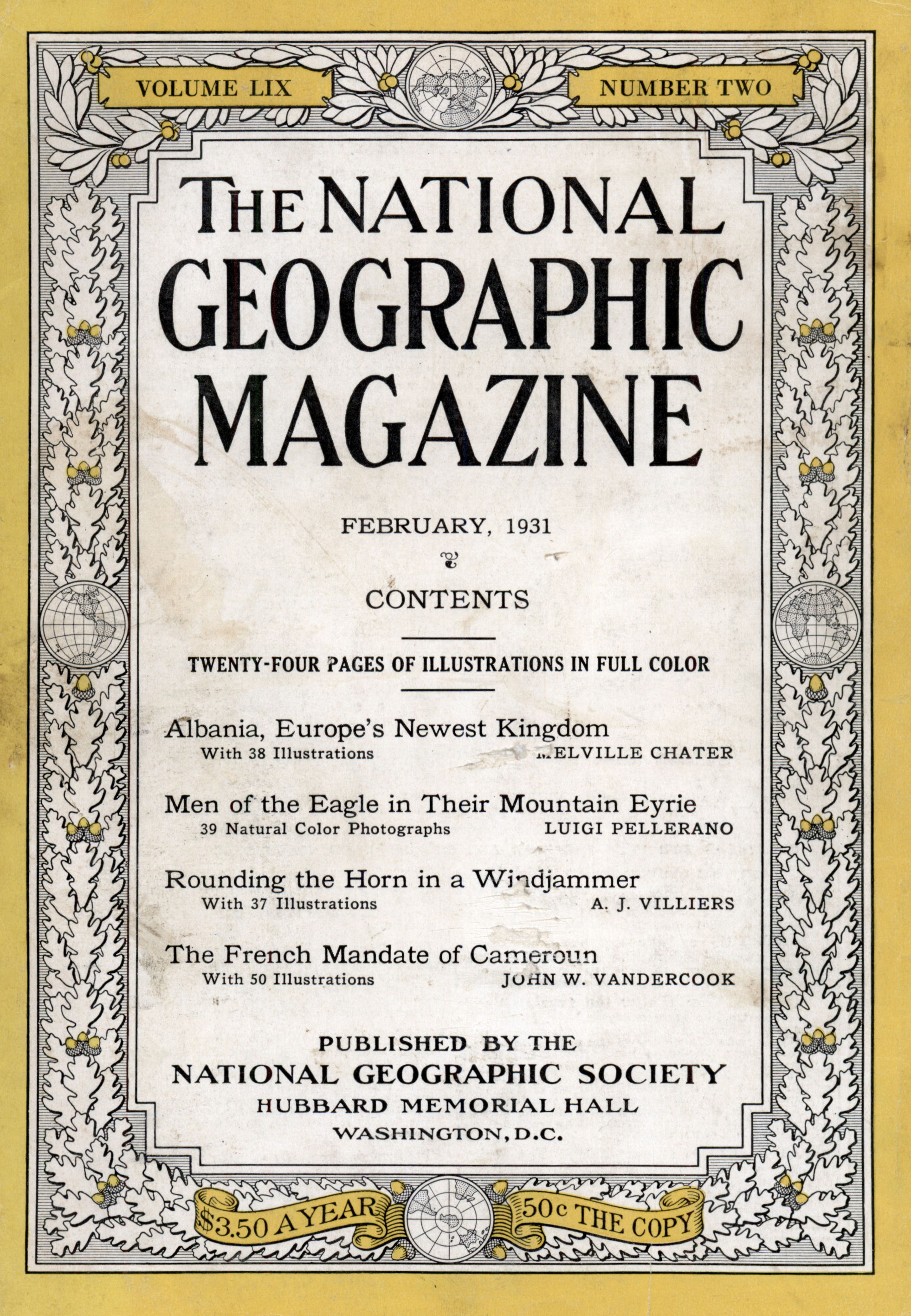 National Geographic Feb 1977 Audubon Harlem Balloon Invisible World Excellent