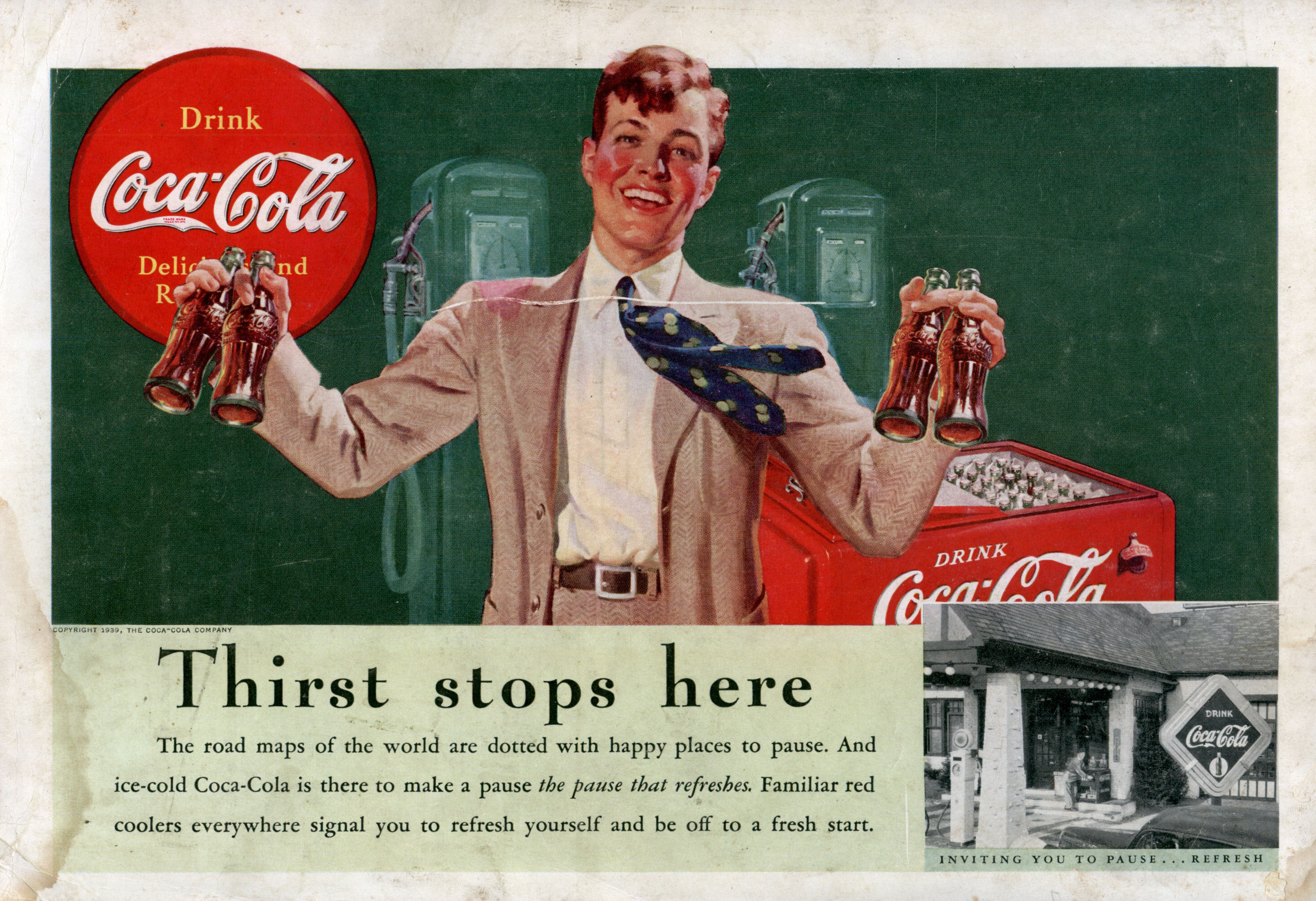 """the effect of coca cola advertising Famous coca-cola ad from 1971, """"i'd like to teach the world to sing,"""" voices a   some advertisers recognize the emotional impact of connecting to consumer."""