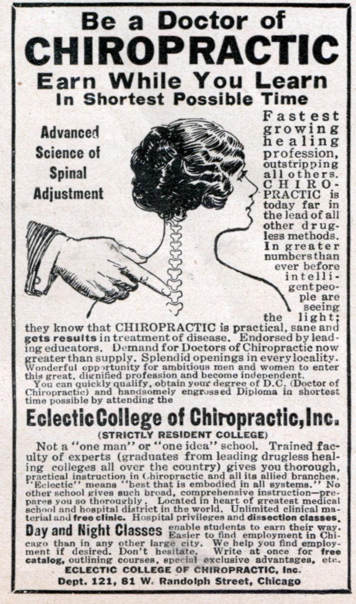 Chiropractic possible majors