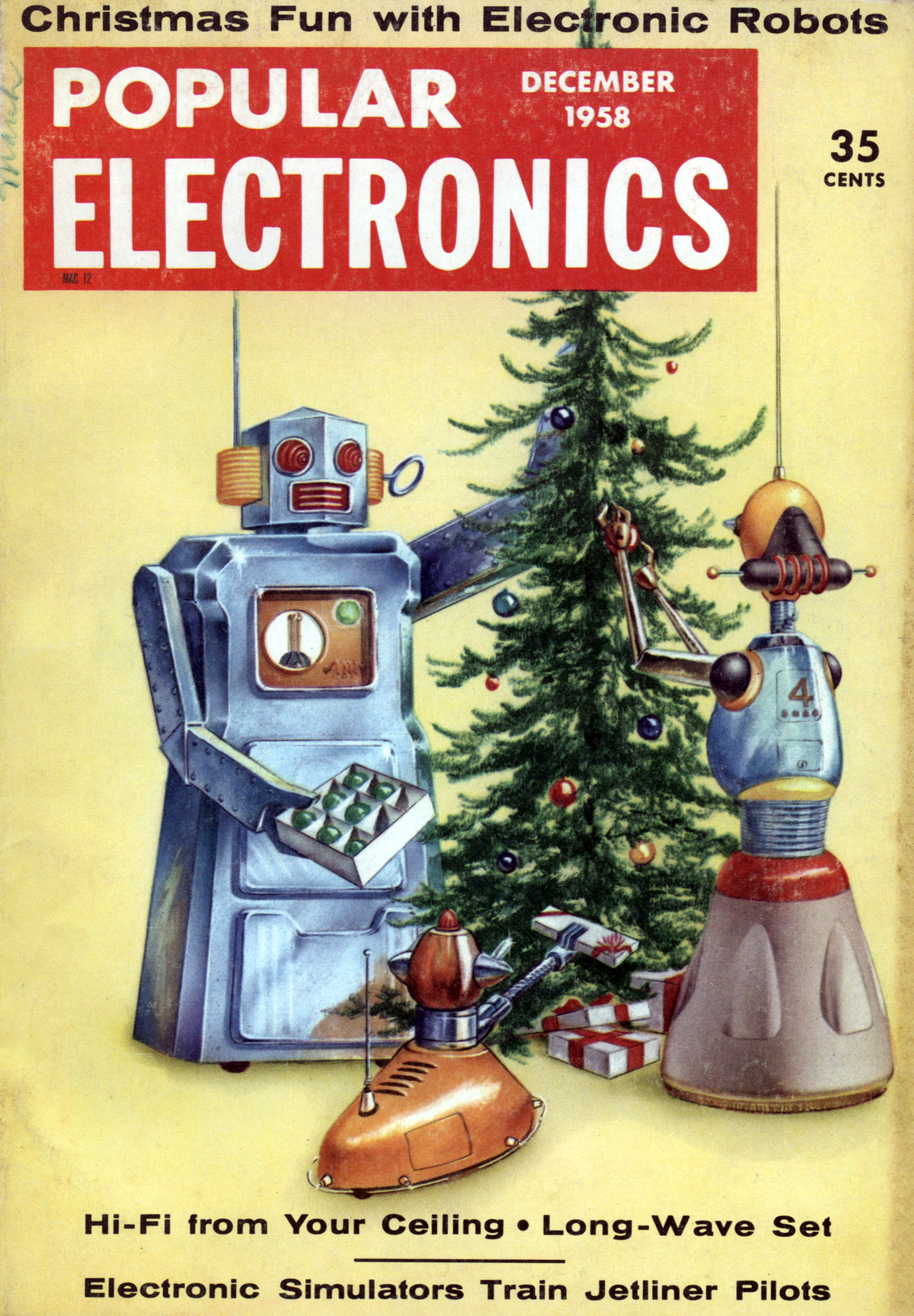 Revista Popular Electronics, diciembre 1958