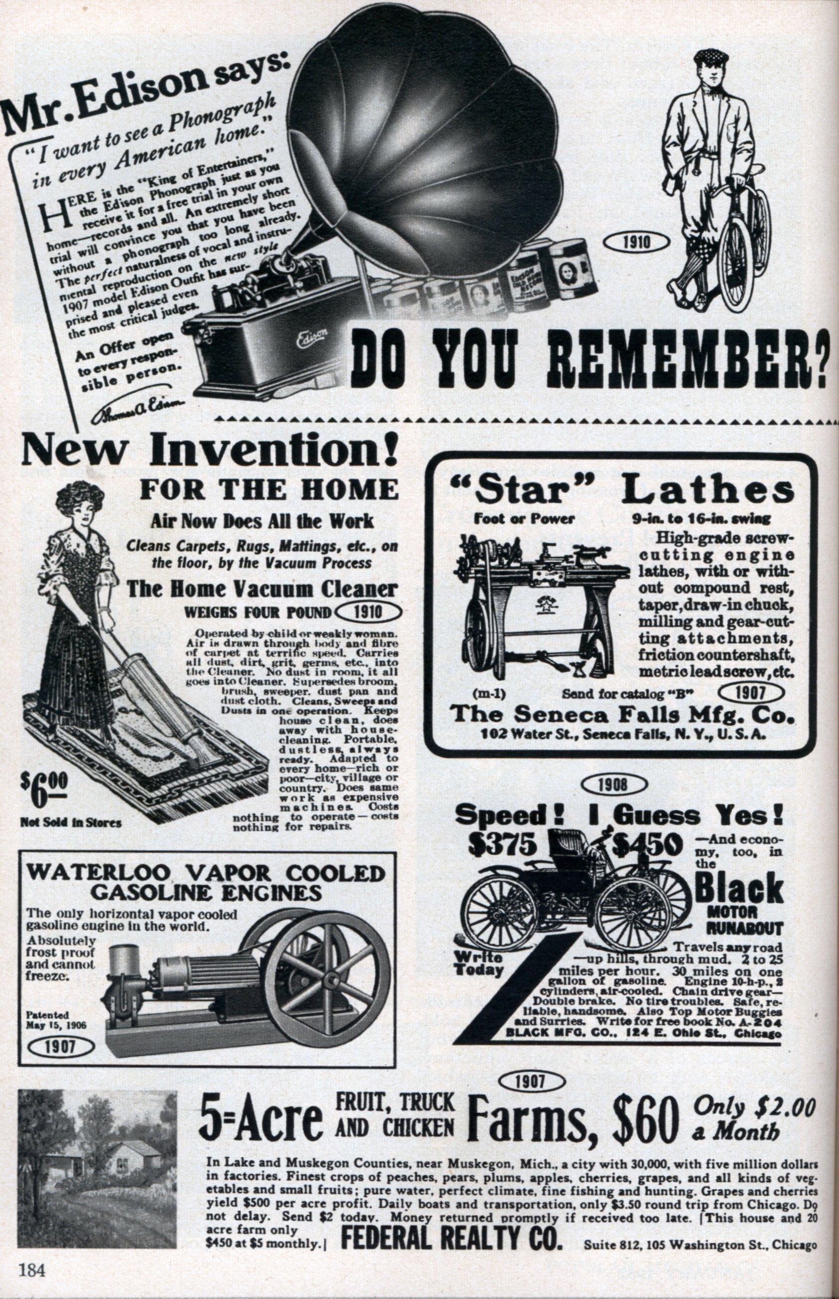 Popular Mechanics Ads From The Old Old Days Modern Mechanix