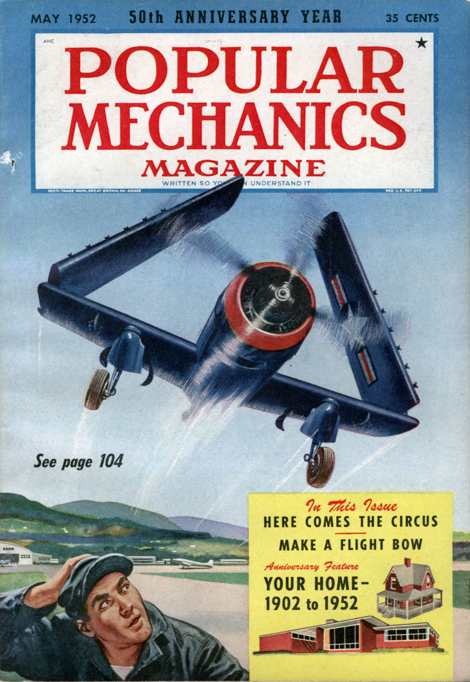 Popular Mechanics May 1952 Modern Mechanix