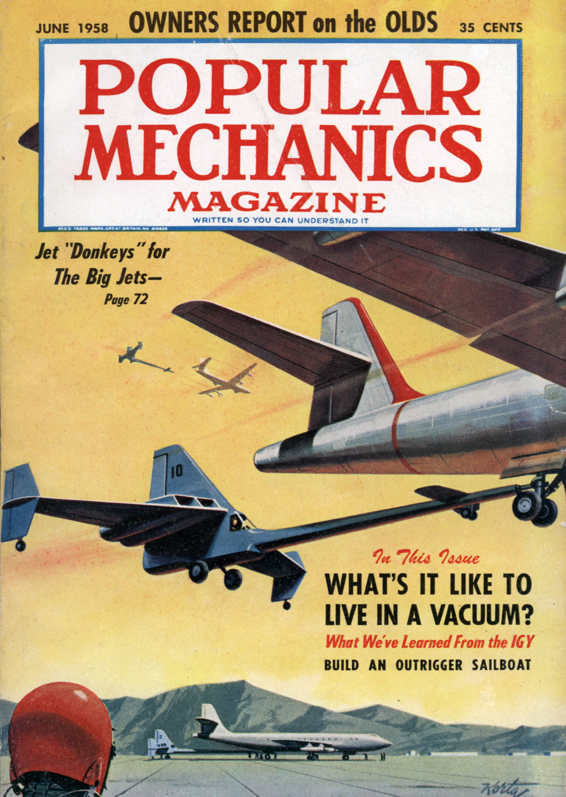 Popular Mechanics Jun 1958 Modern Mechanix