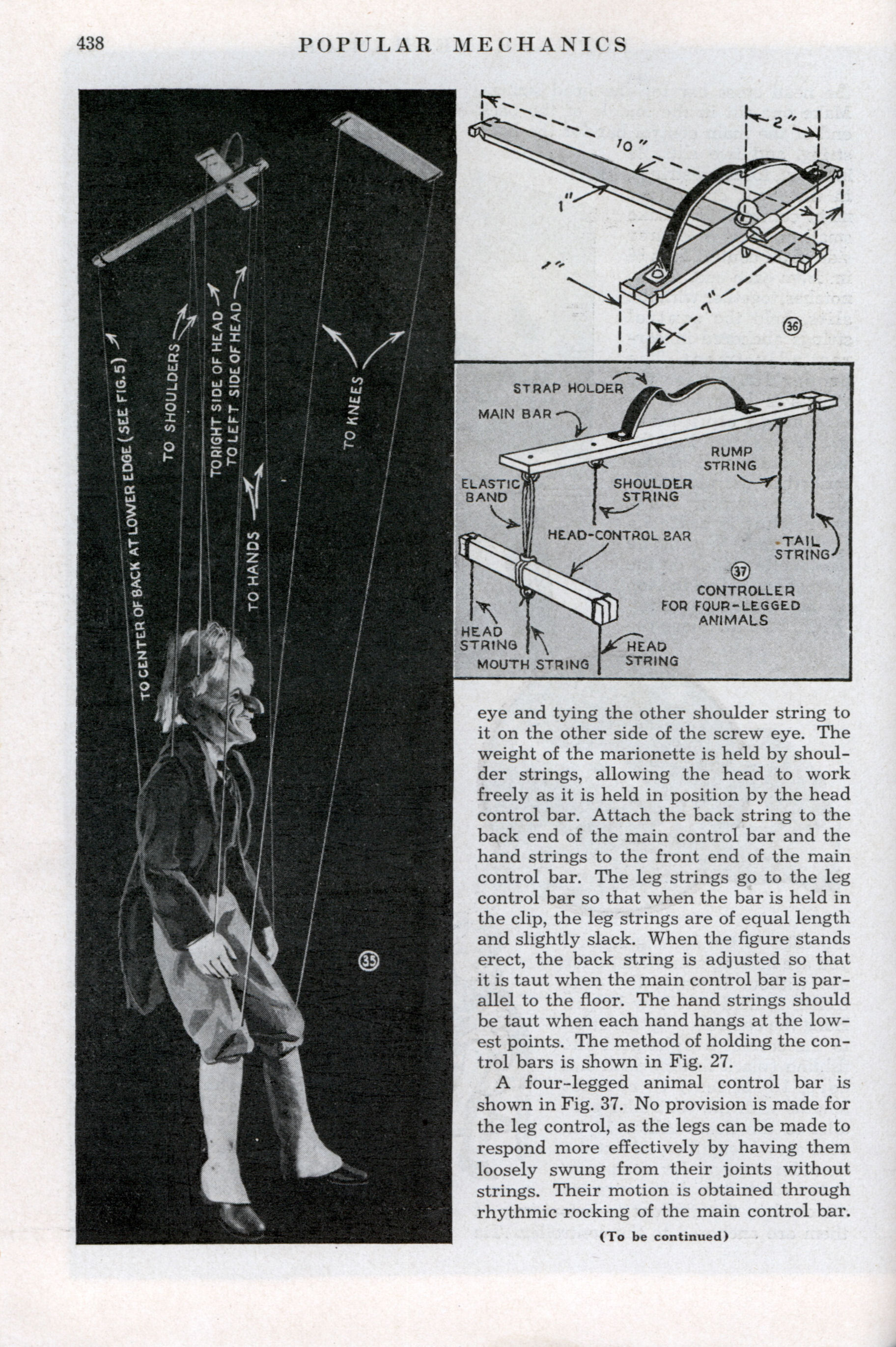 The Secrets Of Making Marionettes Part Ii Modern Mechanix Page 4