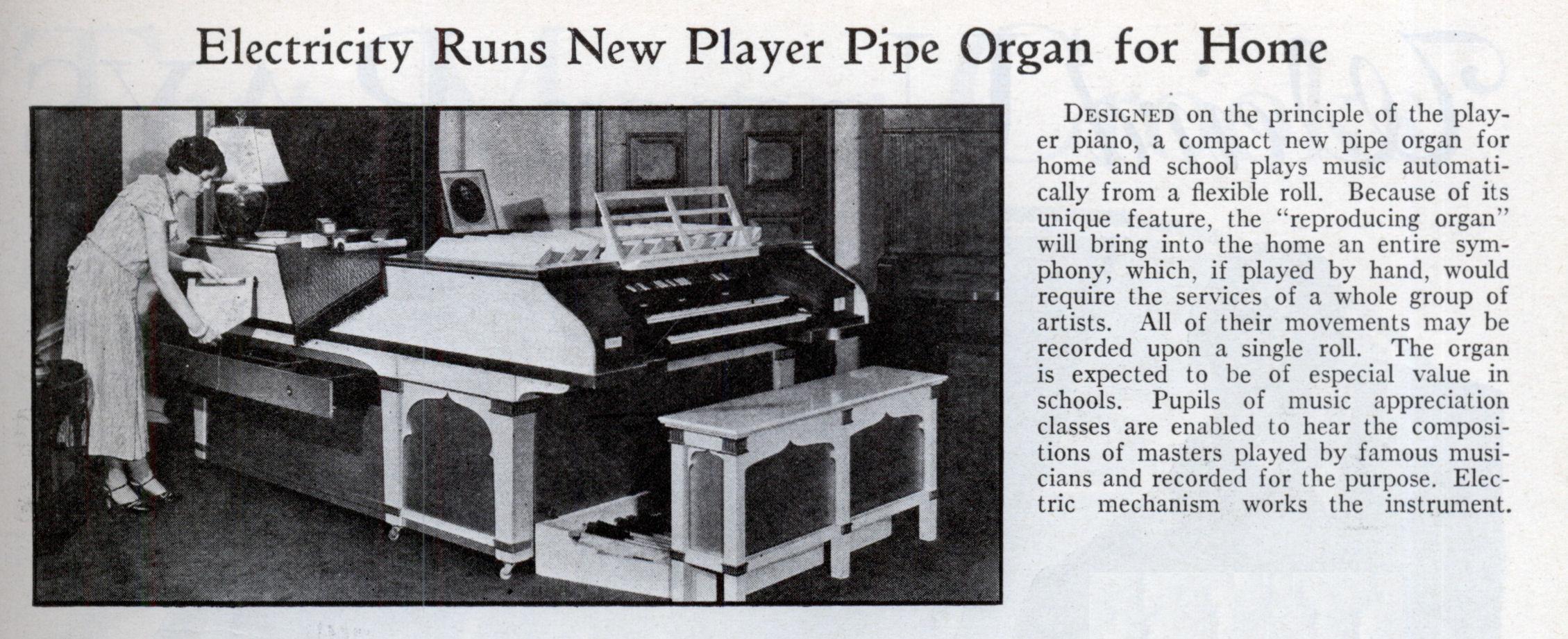 Americanate generale forum musica for Classic house organ sound