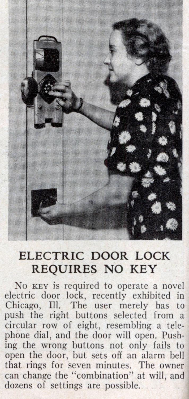 Door Electric Lock