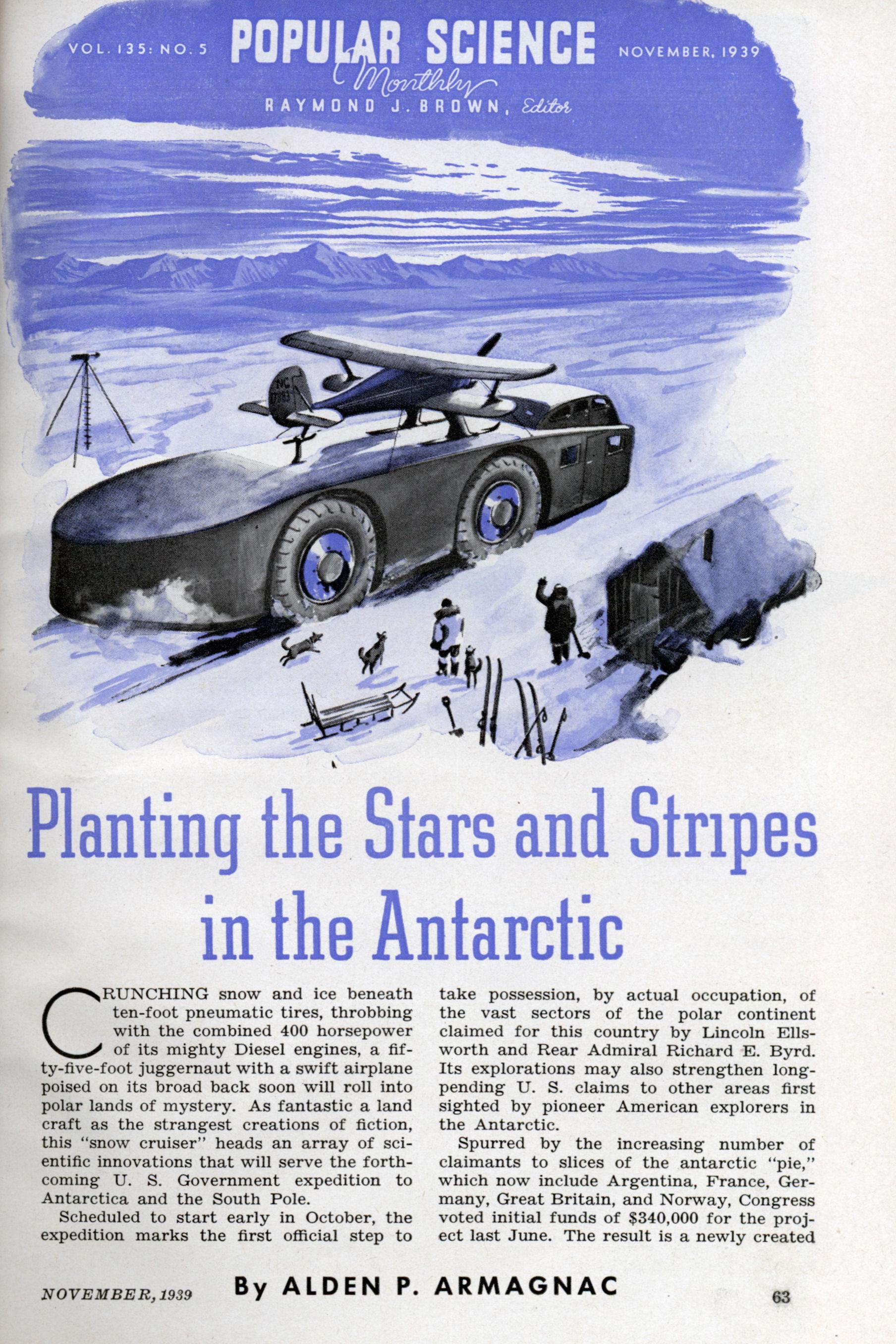 1939 in Antarctica