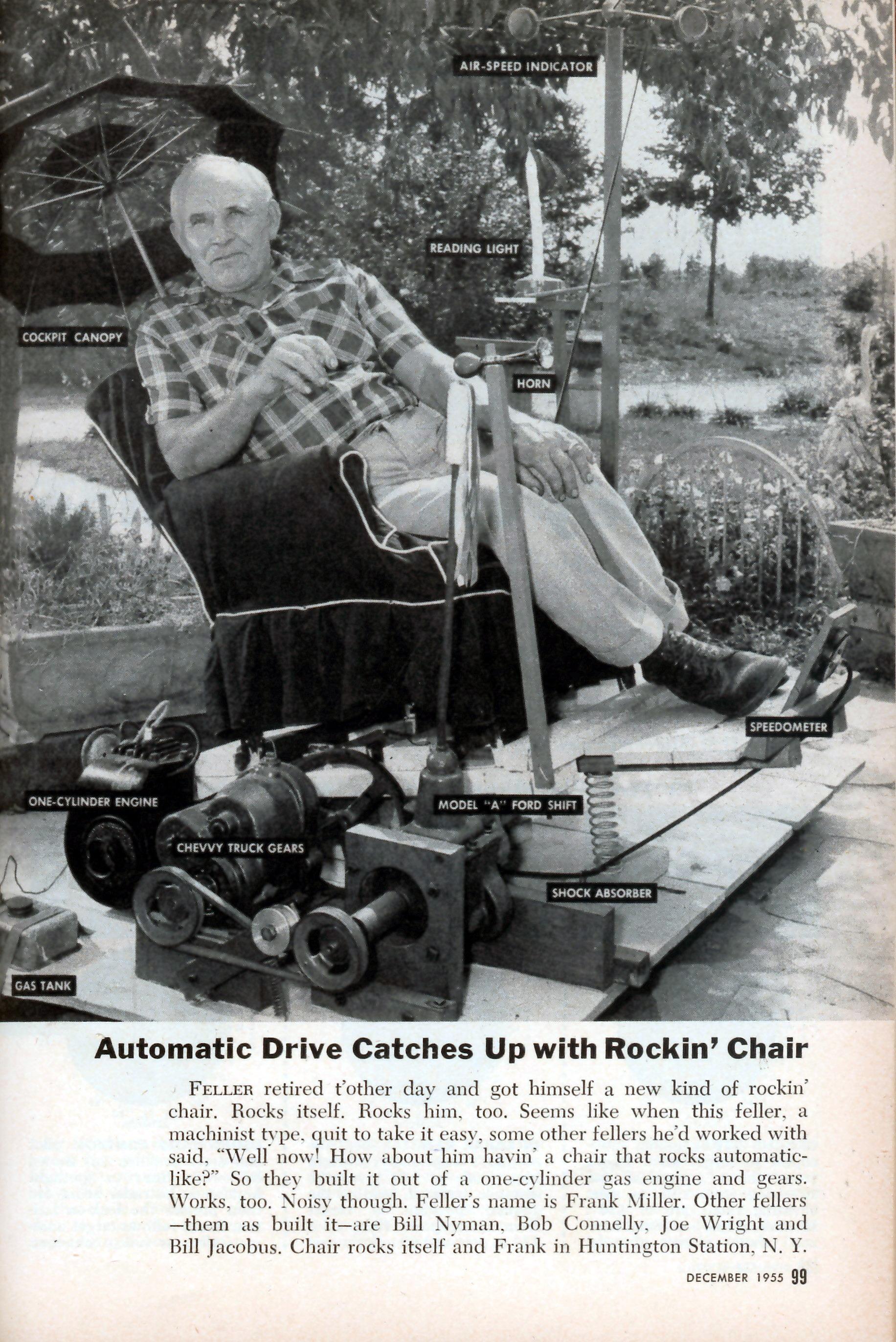 Motorized Rocking Chair