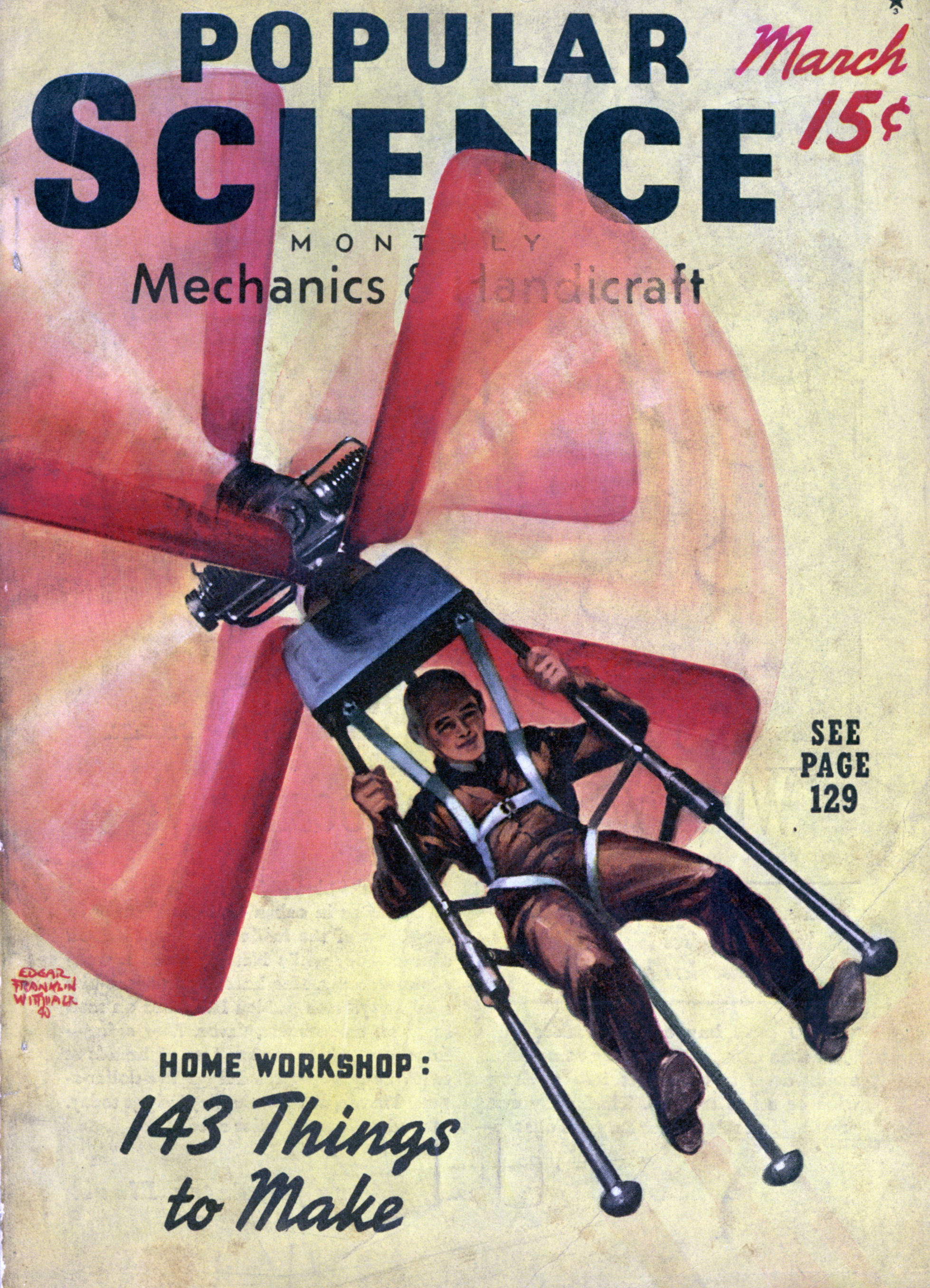 Popular Science Mar 1940 Modern Mechanix