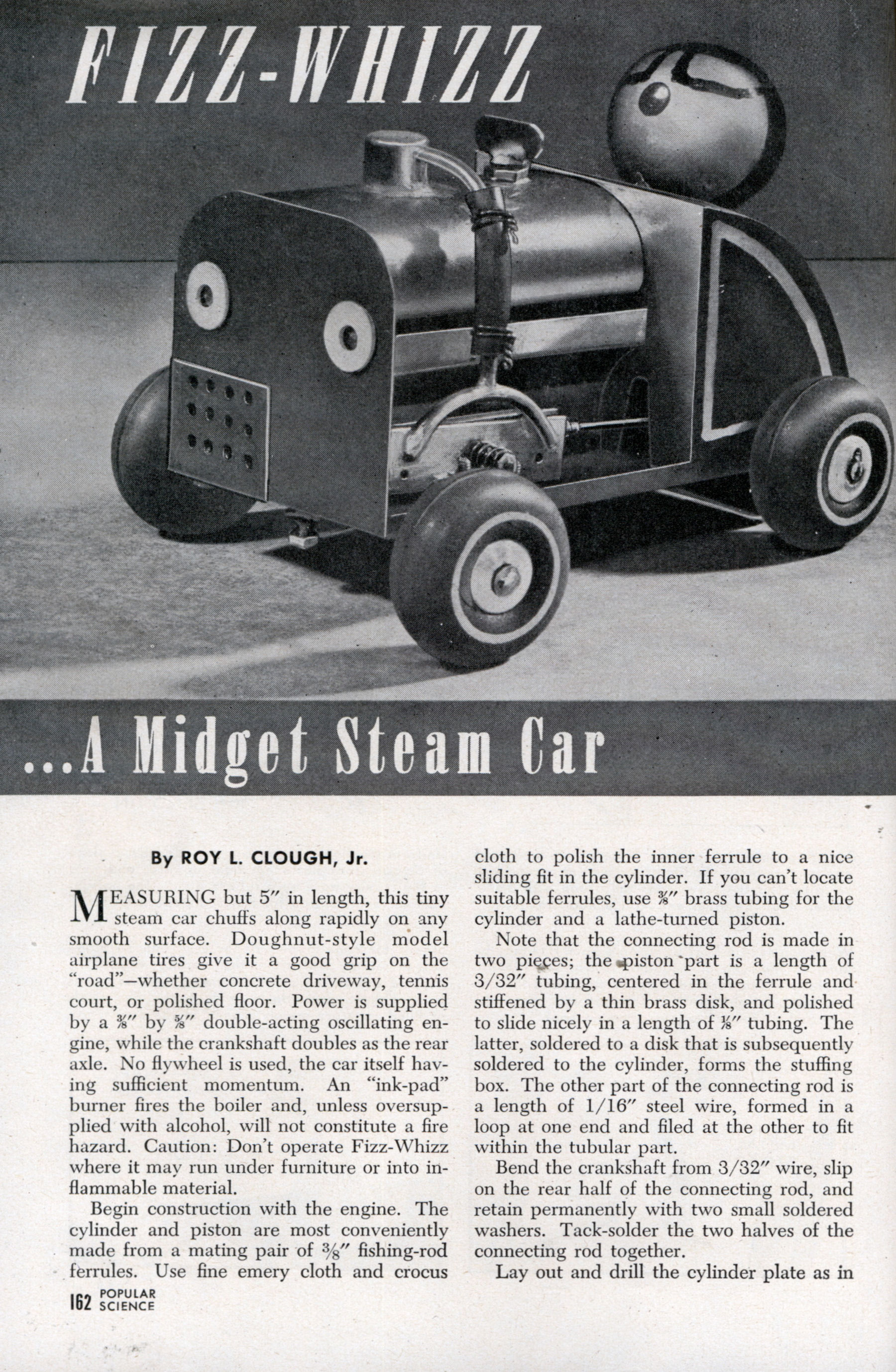 A Midget Steam Car (Mar, 1947)
