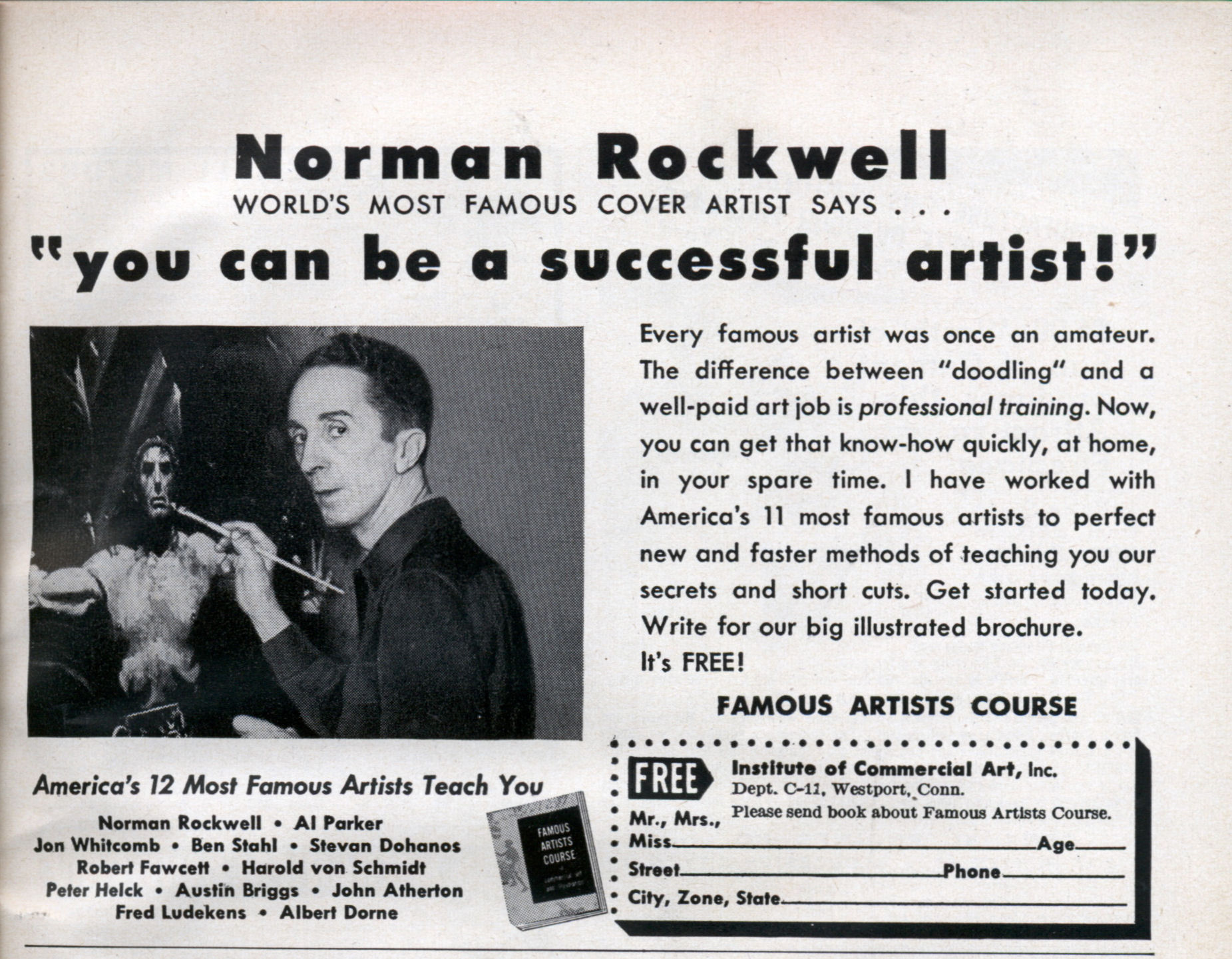 Norman Rockwell Online - Art cyclopedia: The Fine Art Search Engine