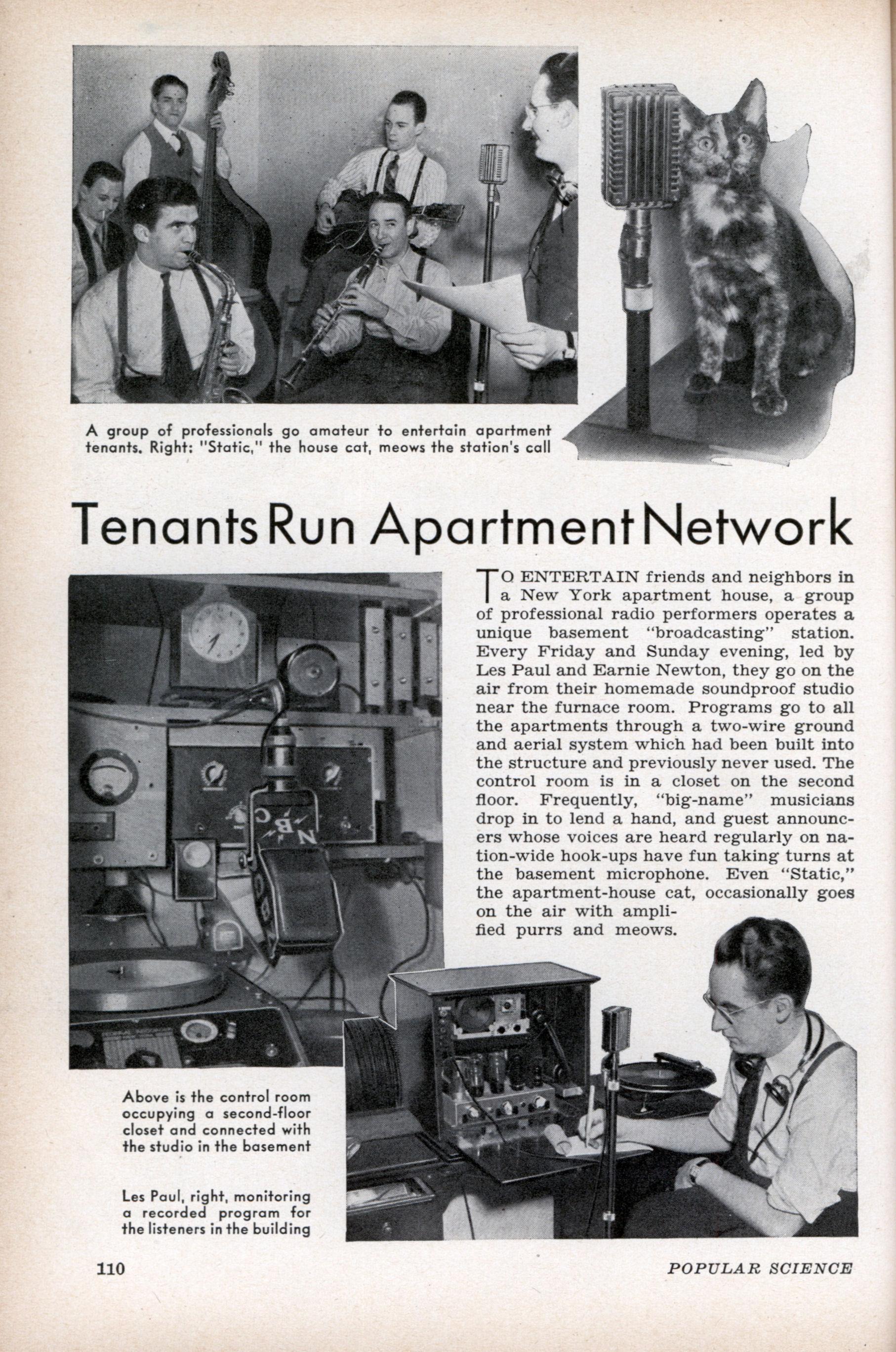 Tenants Run Apartment Network Modern Mechanix