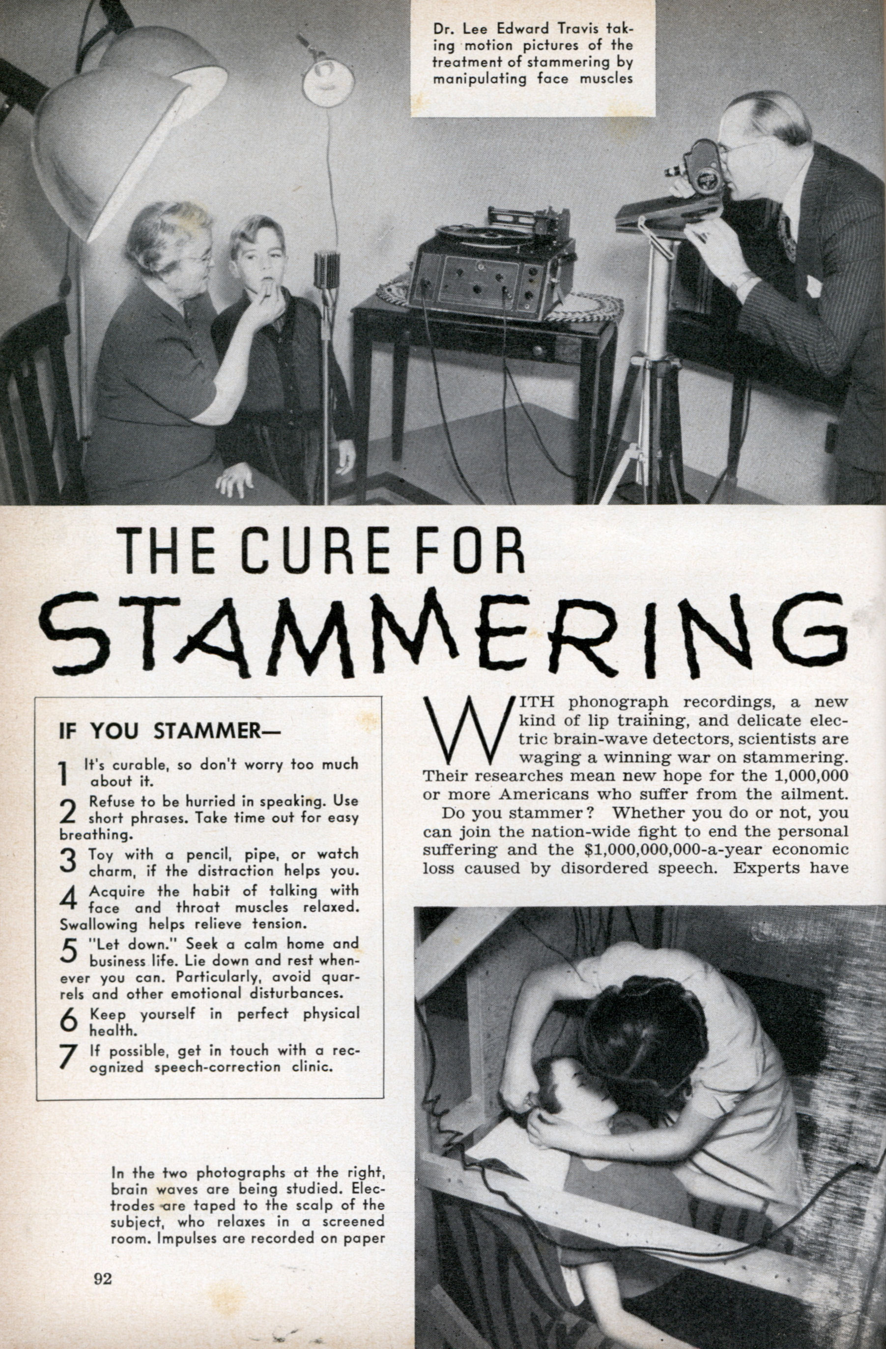 Southern California Electric >> THE CURE FOR STAMMERING | Modern Mechanix