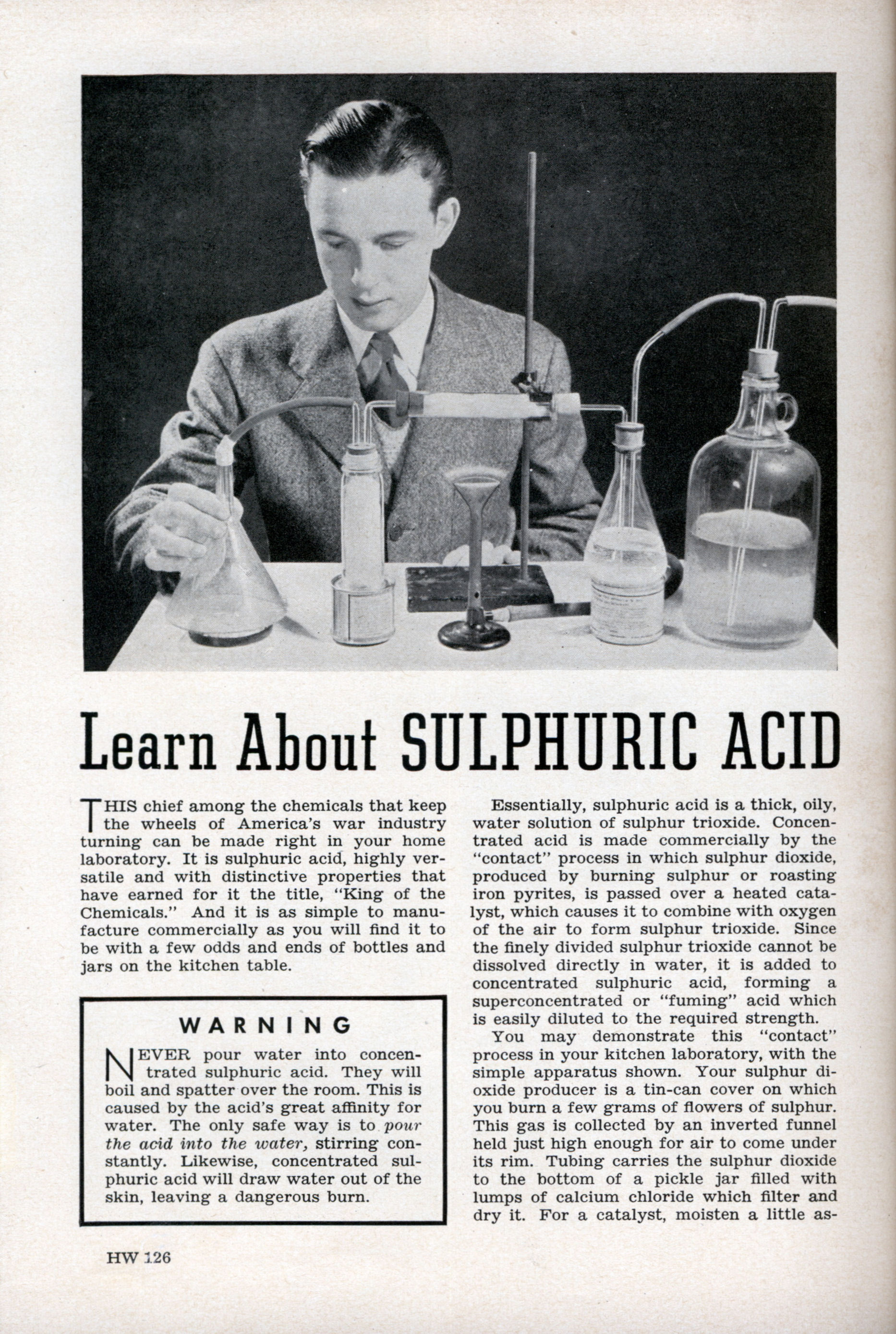 determining the concentration of sulphuric acid essay Acetic acid (fr latin acetum for vinegar) is the main component of vinegar it is a carbon  concentration that is needed to completely react with an analyte in modern cases, a buret, rather than a teaspoon, is used to deliver the titrant into the analyte solution.