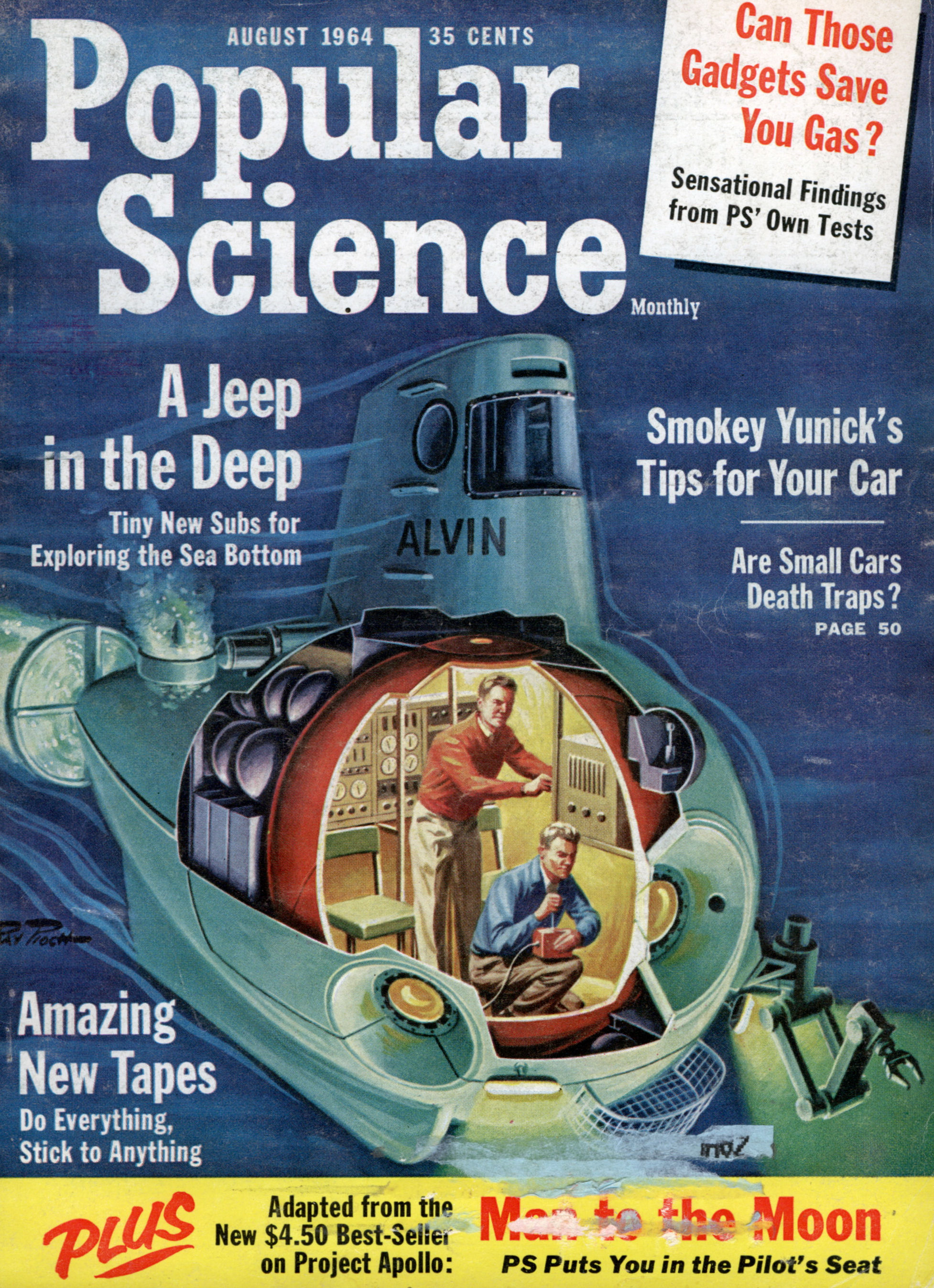 science magazine 1964 popular magazines future covers 1960s early issue mechanics space popularscience mechanix fiction illustrations modern sci mags were