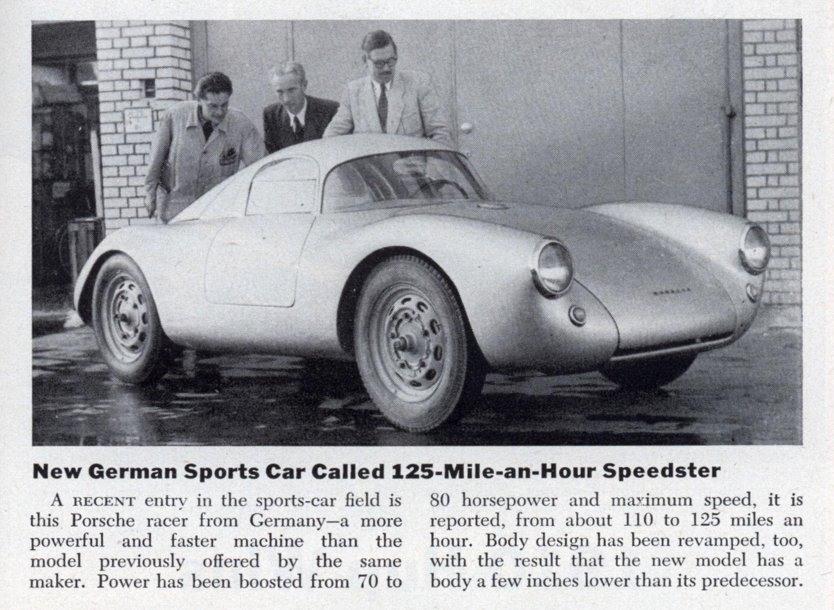 Early Porsche | Modern Mechanix