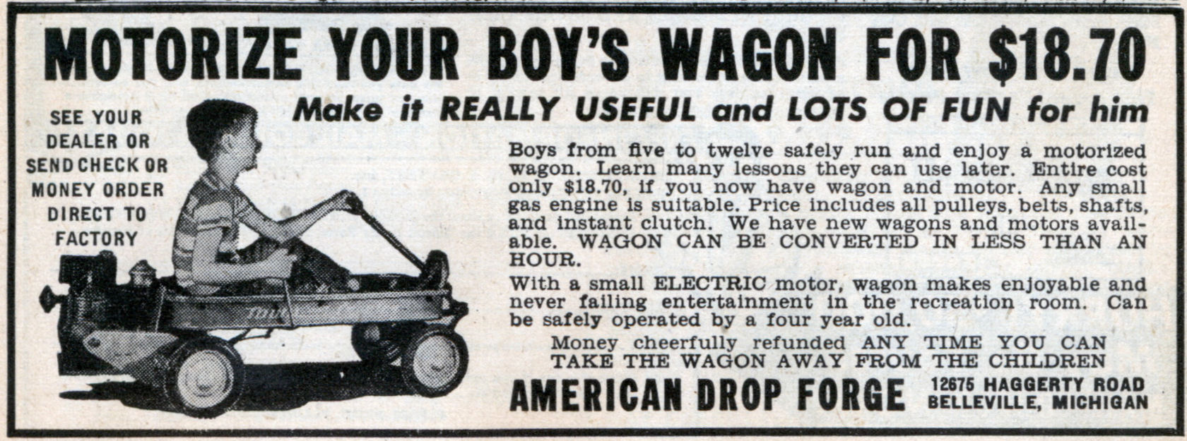 Motorize Your Boy S Wagon For Modern Mechanix