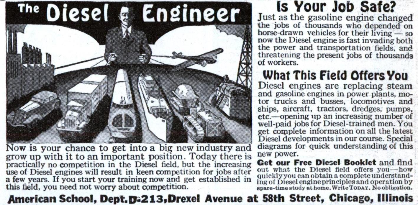 the diesel engineer feb 1936