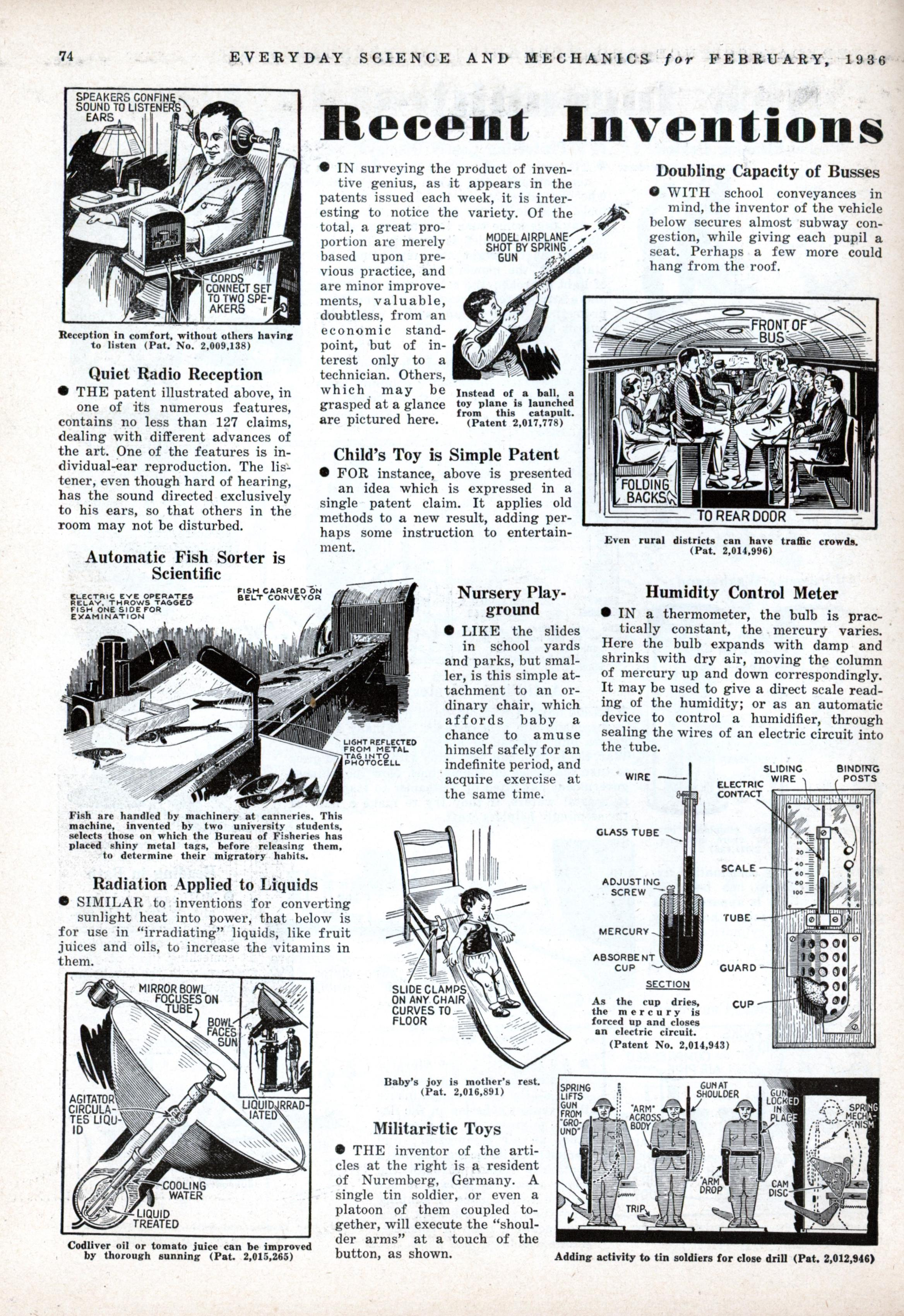 recent inventions modern mechanix