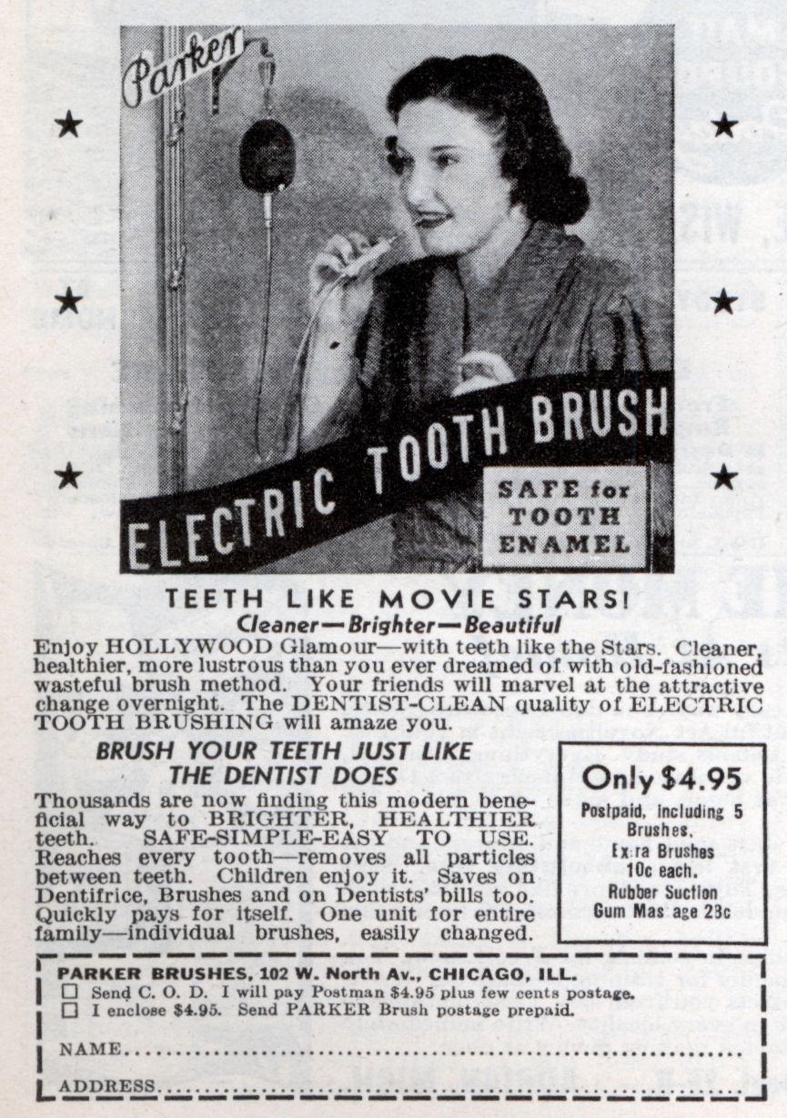 parker electric tooth brush modern mechanix