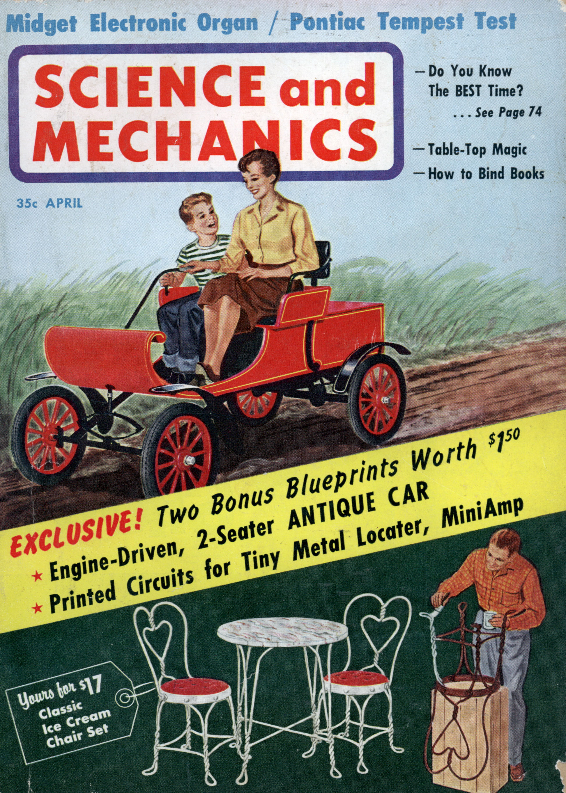 Science and Mechanics Magazine Saab's 9-Cylinder Steam Engine January 1975