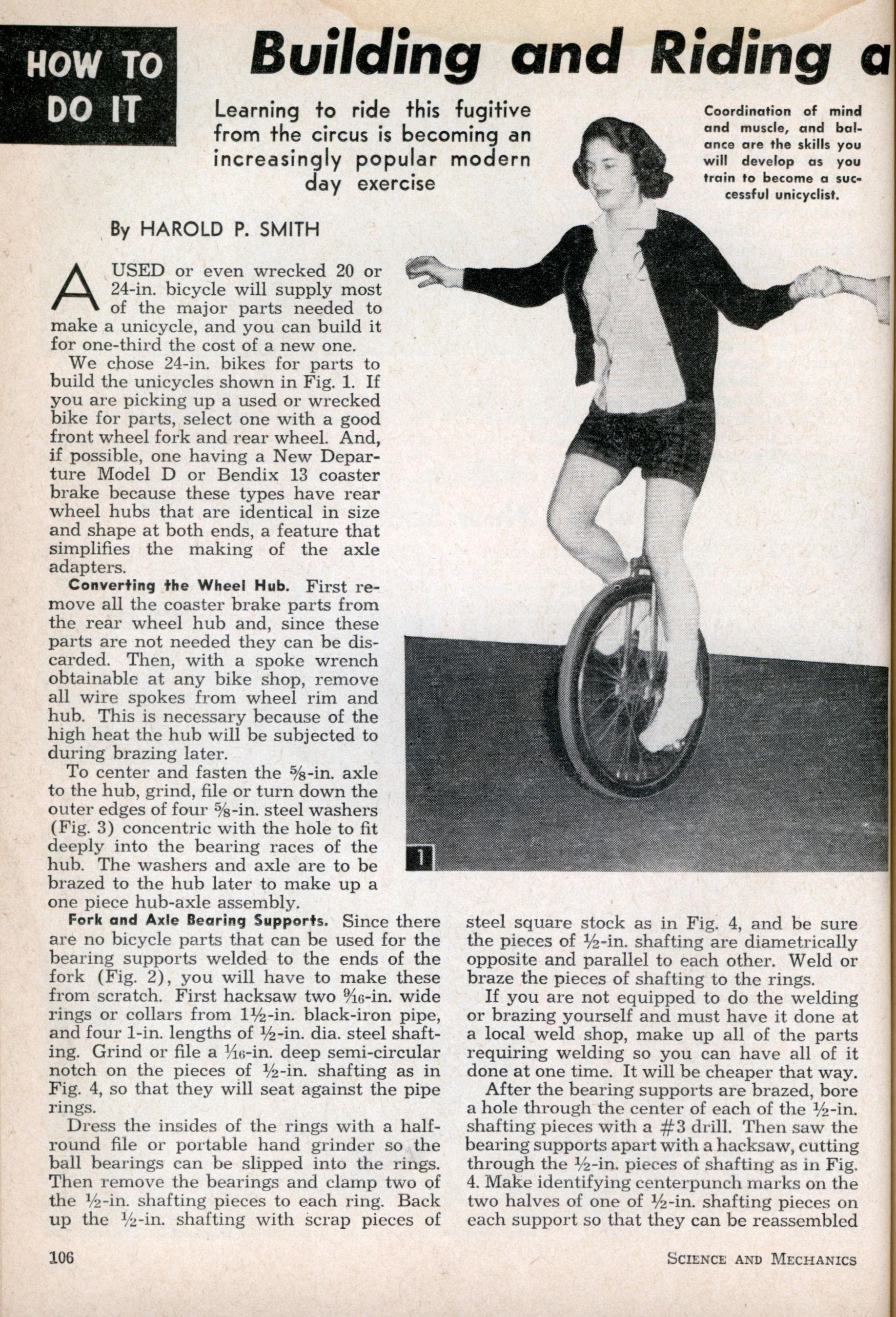 monociclo tutorial